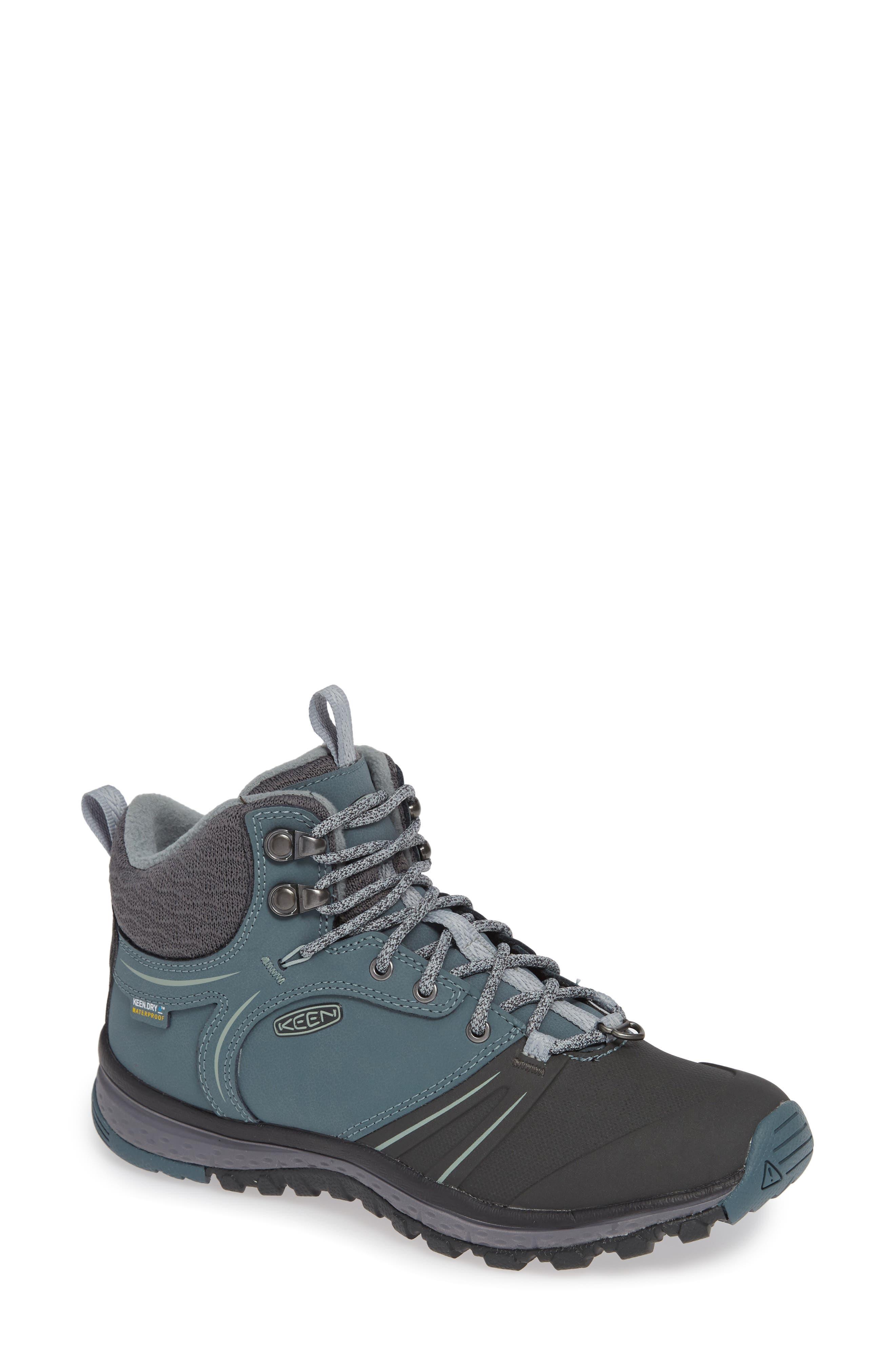Keen Terradora Wintershell Waterproof Hiking Boot- Grey