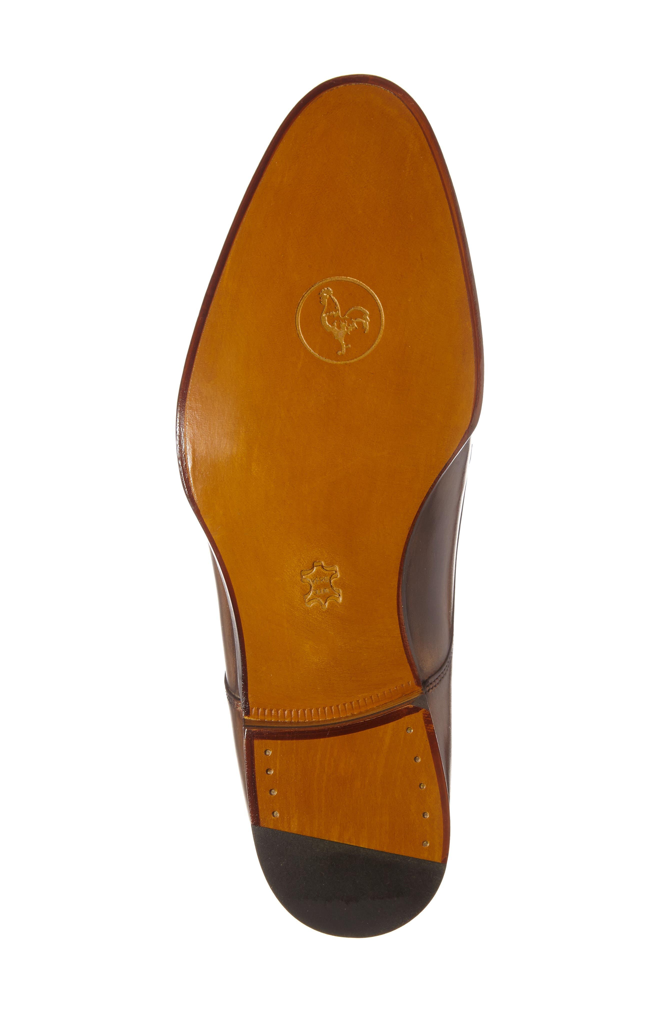 Di Gallo Bianco Blake Double Monk Strap Shoe,                             Alternate thumbnail 4, color,                             210