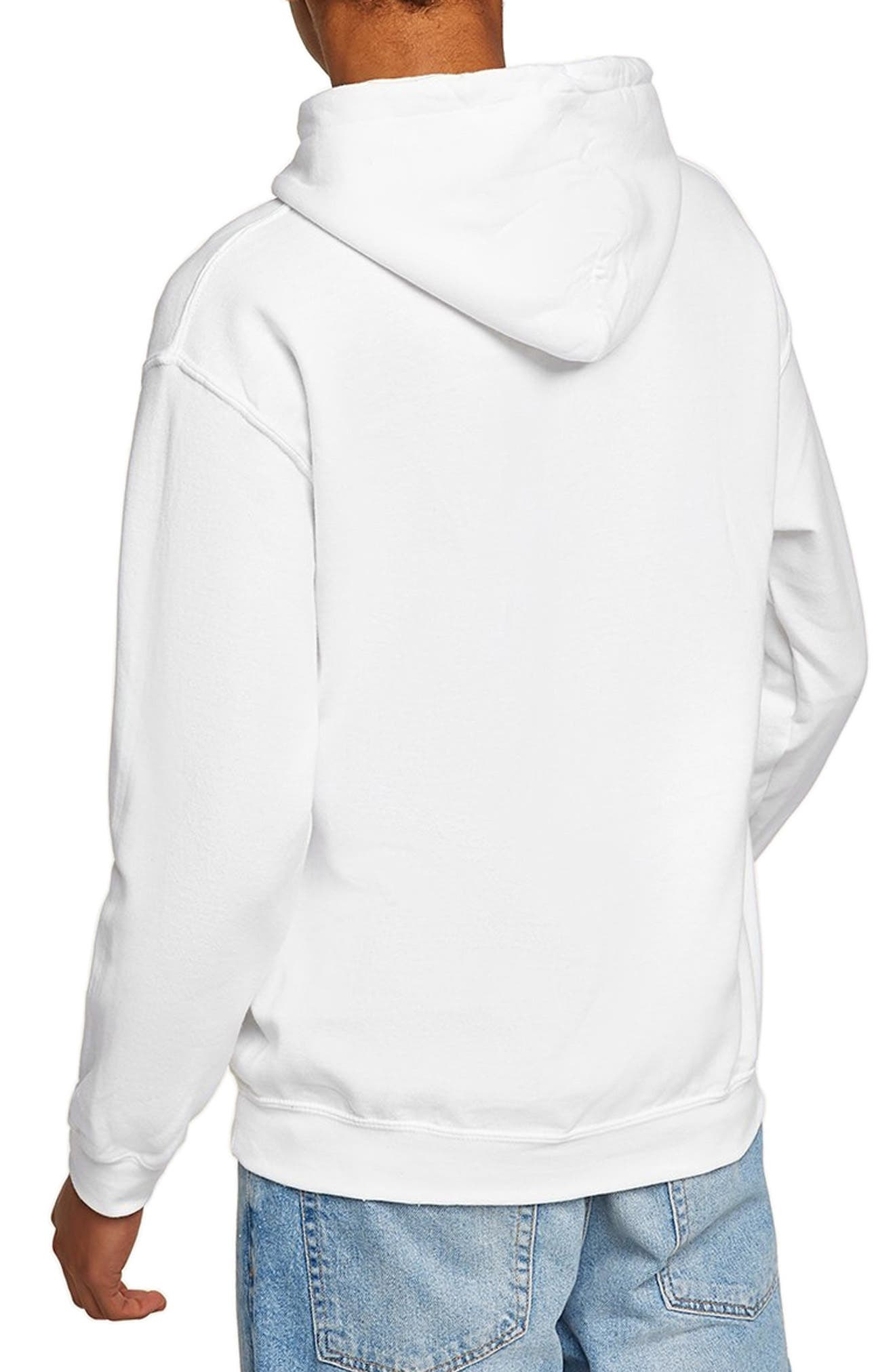 Classic Fit Gildan Pullover Hoodie,                             Alternate thumbnail 2, color,                             100