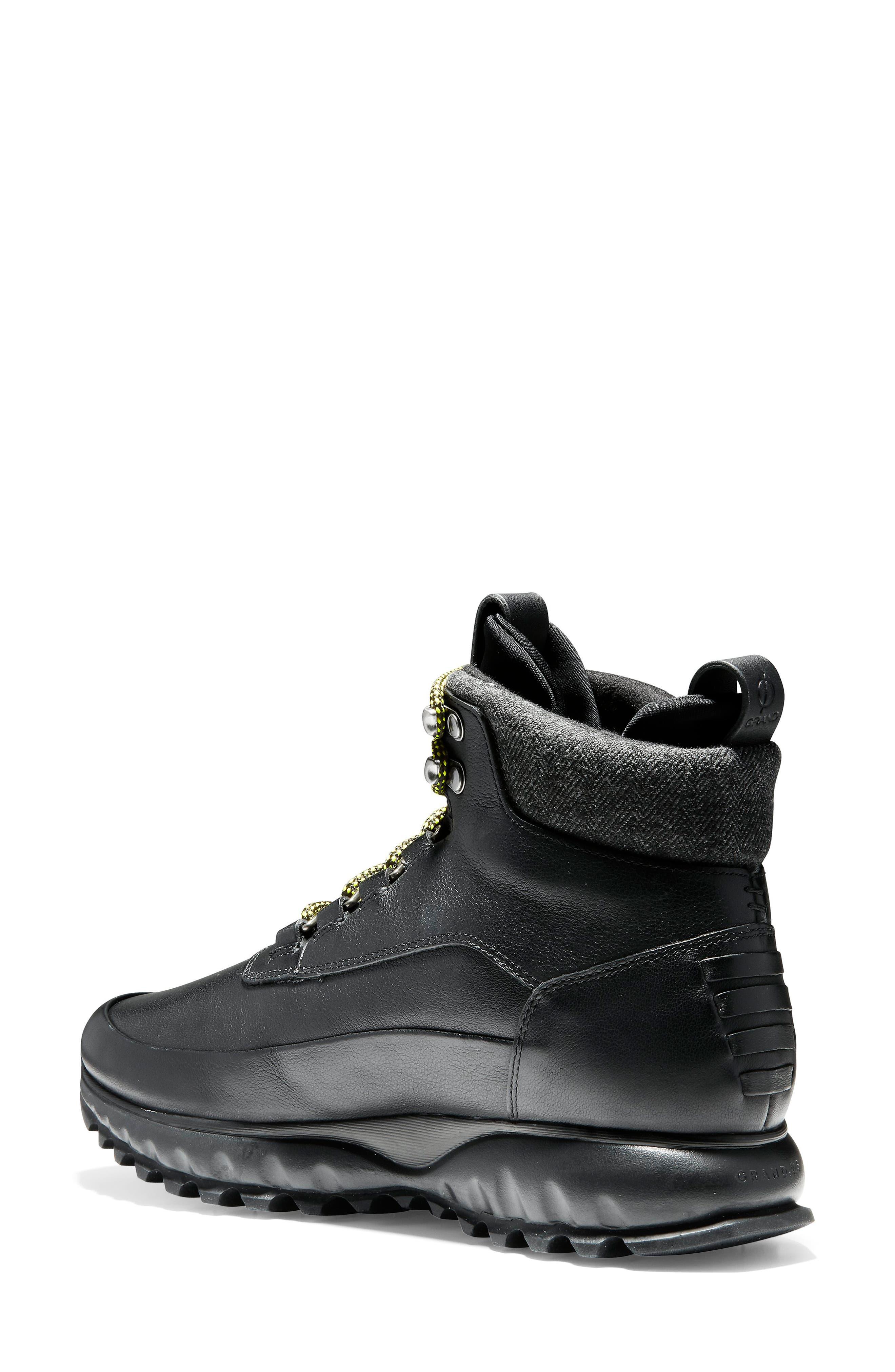 GrandExplore All Terrain Waterproof Hiking Boot,                             Alternate thumbnail 2, color,                             BLACK WATERPROOF LEATHER