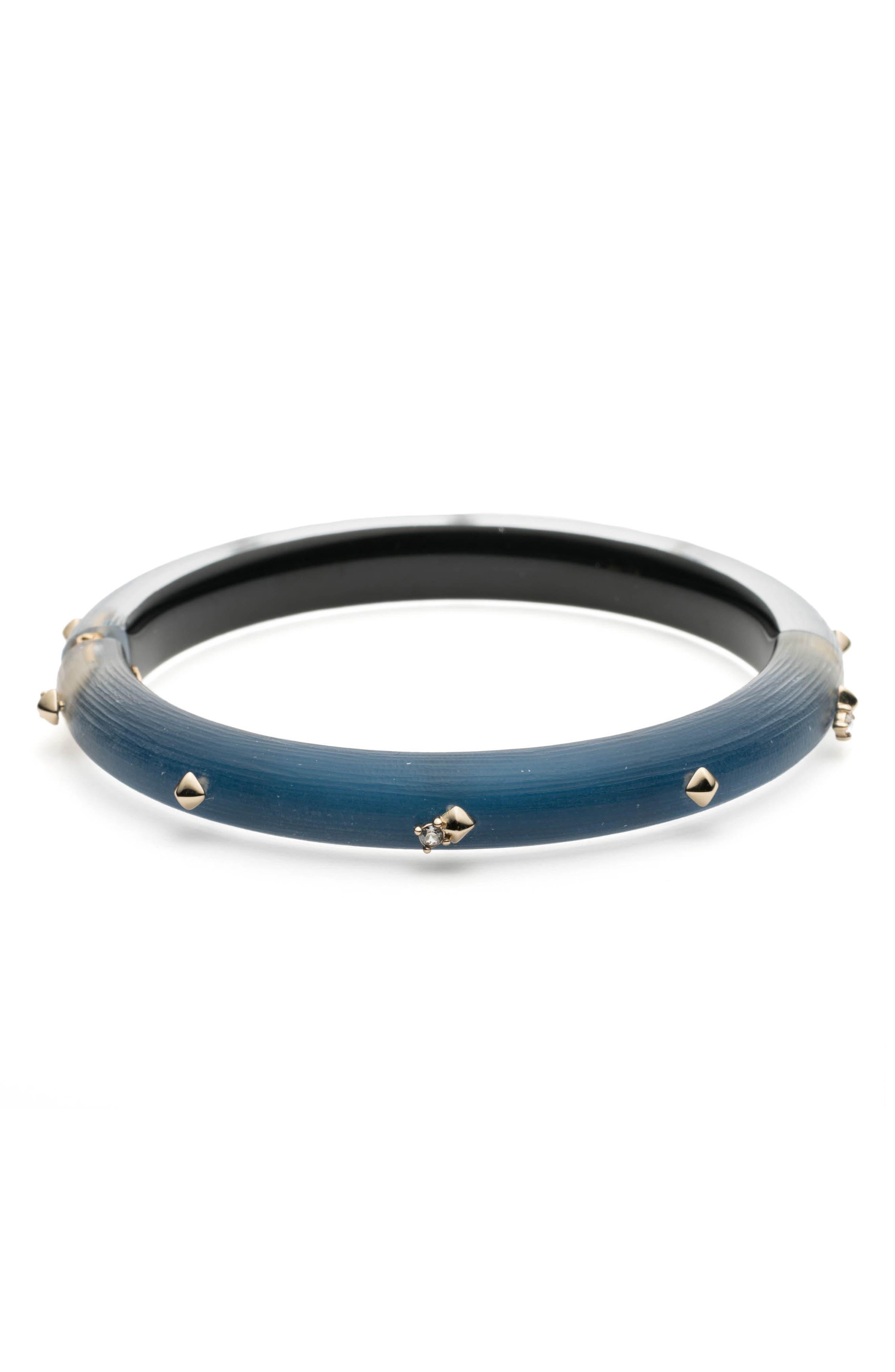 Studded Hinge Bracelet,                         Main,                         color, PACIFIC