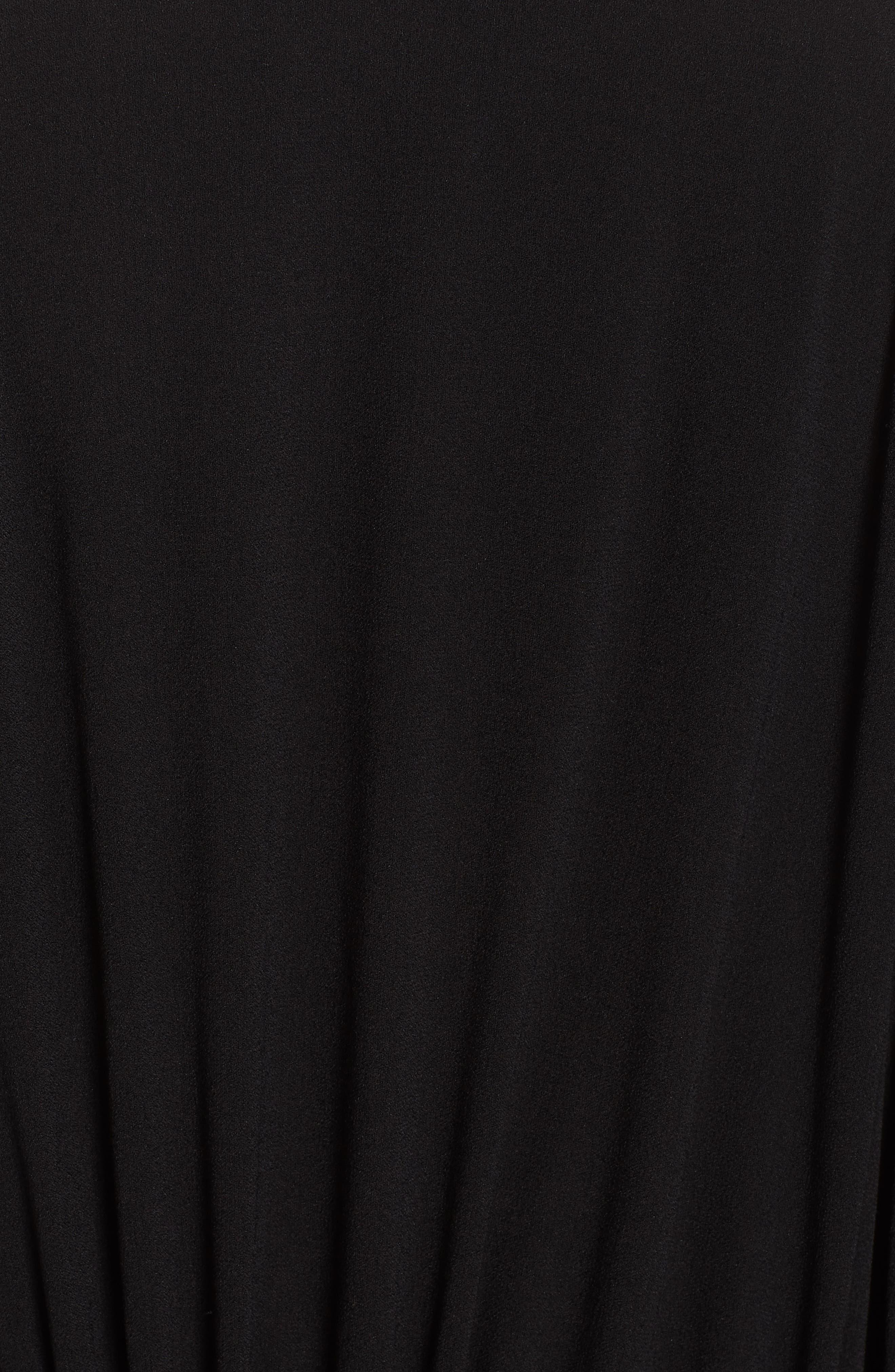 Deon Kimono Wrap,                             Alternate thumbnail 6, color,                             BLACK