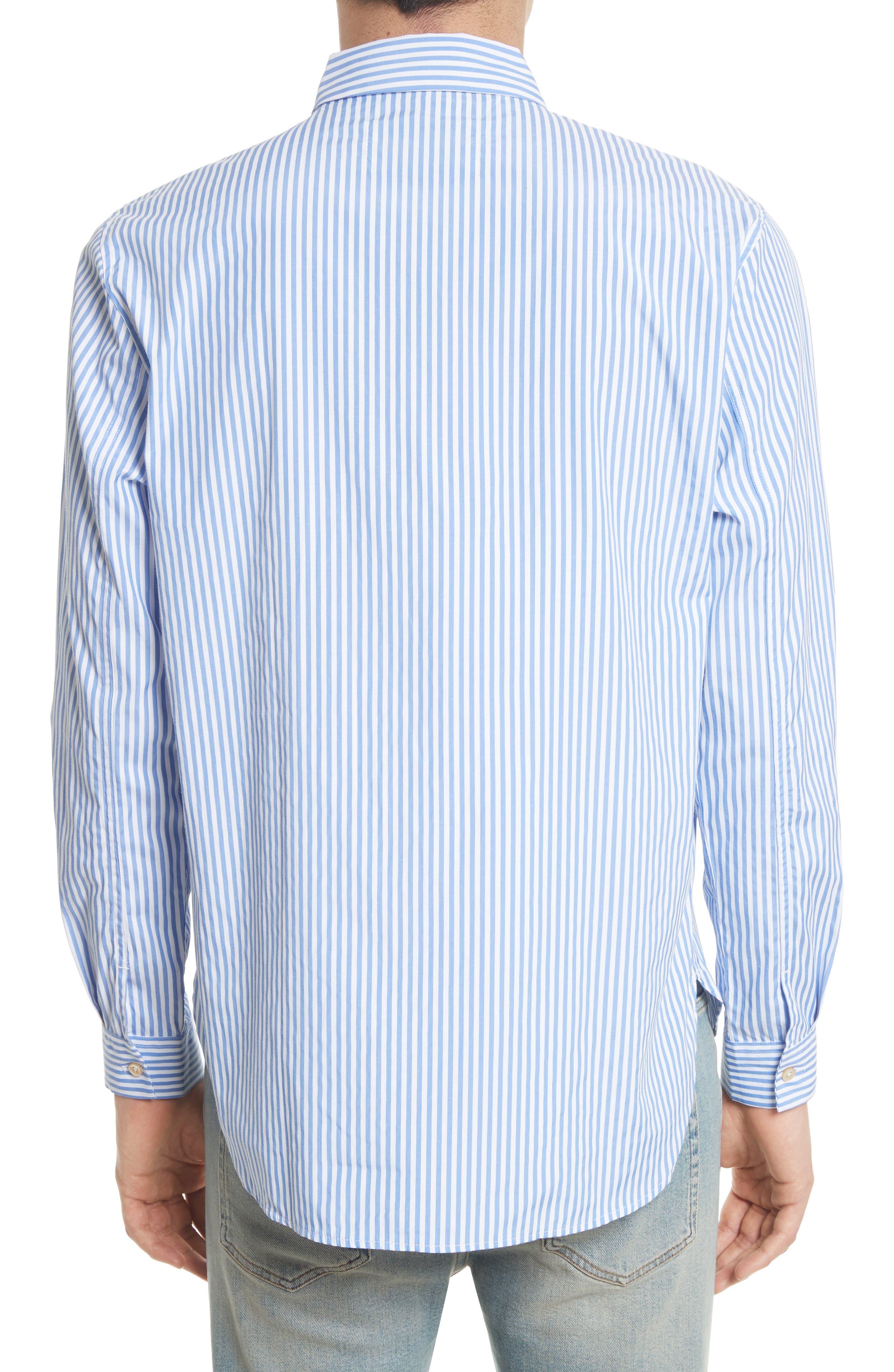 Shawl Collar Quarter Zip Shirt,                             Alternate thumbnail 3, color,
