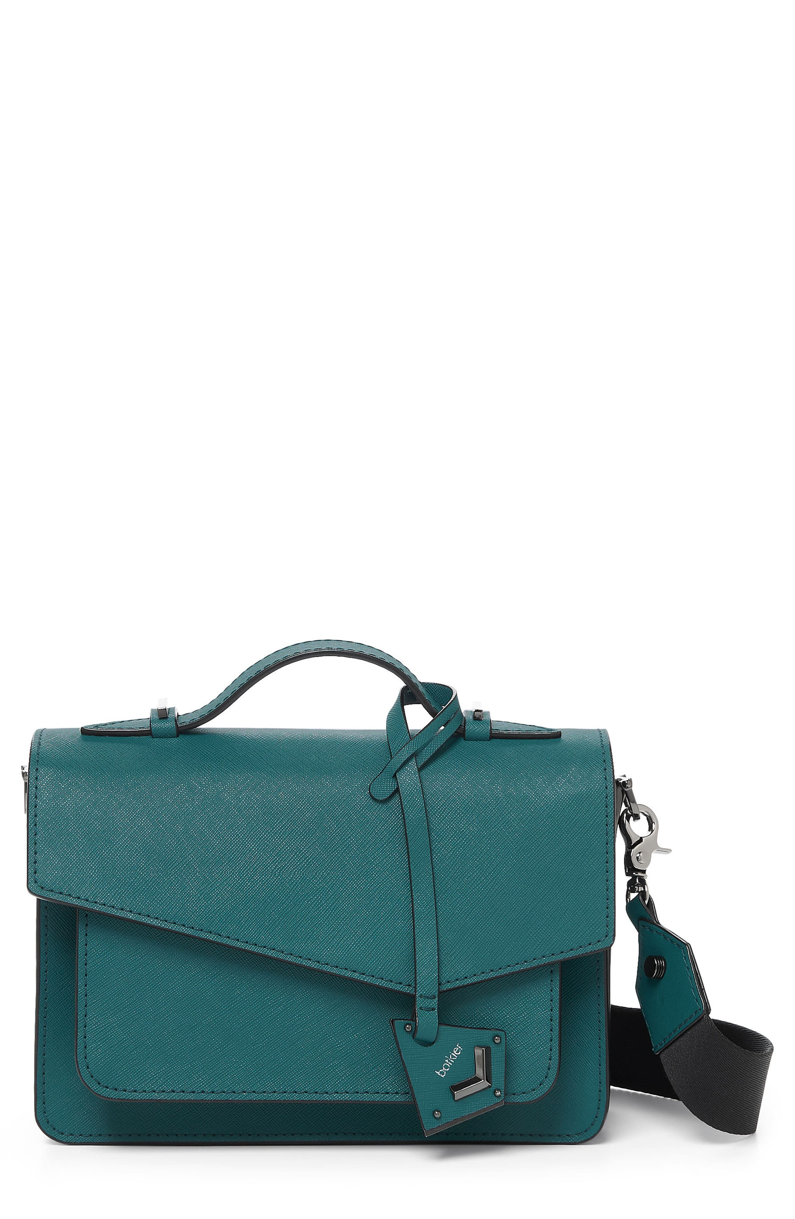 Cobble Hill Leather Crossbody Bag,                             Main thumbnail 8, color,