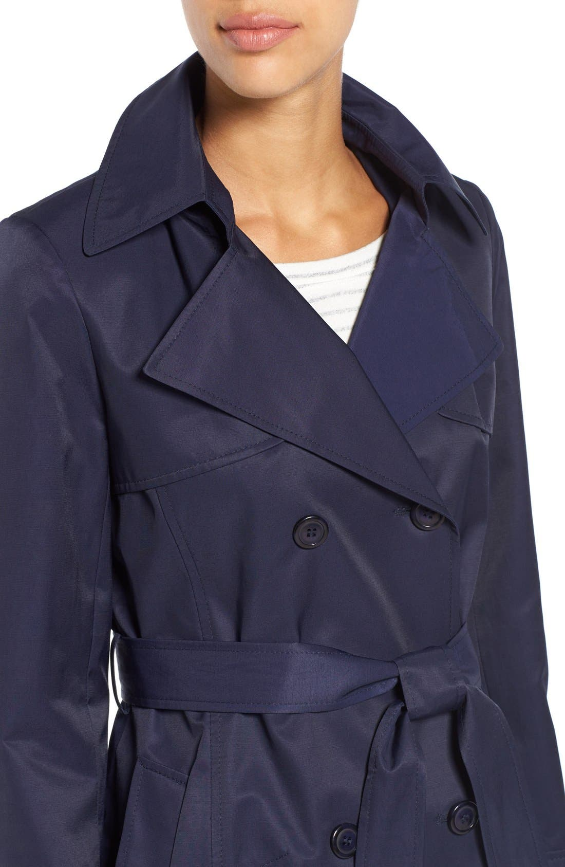 Detachable Hood Trench Coat,                             Alternate thumbnail 30, color,
