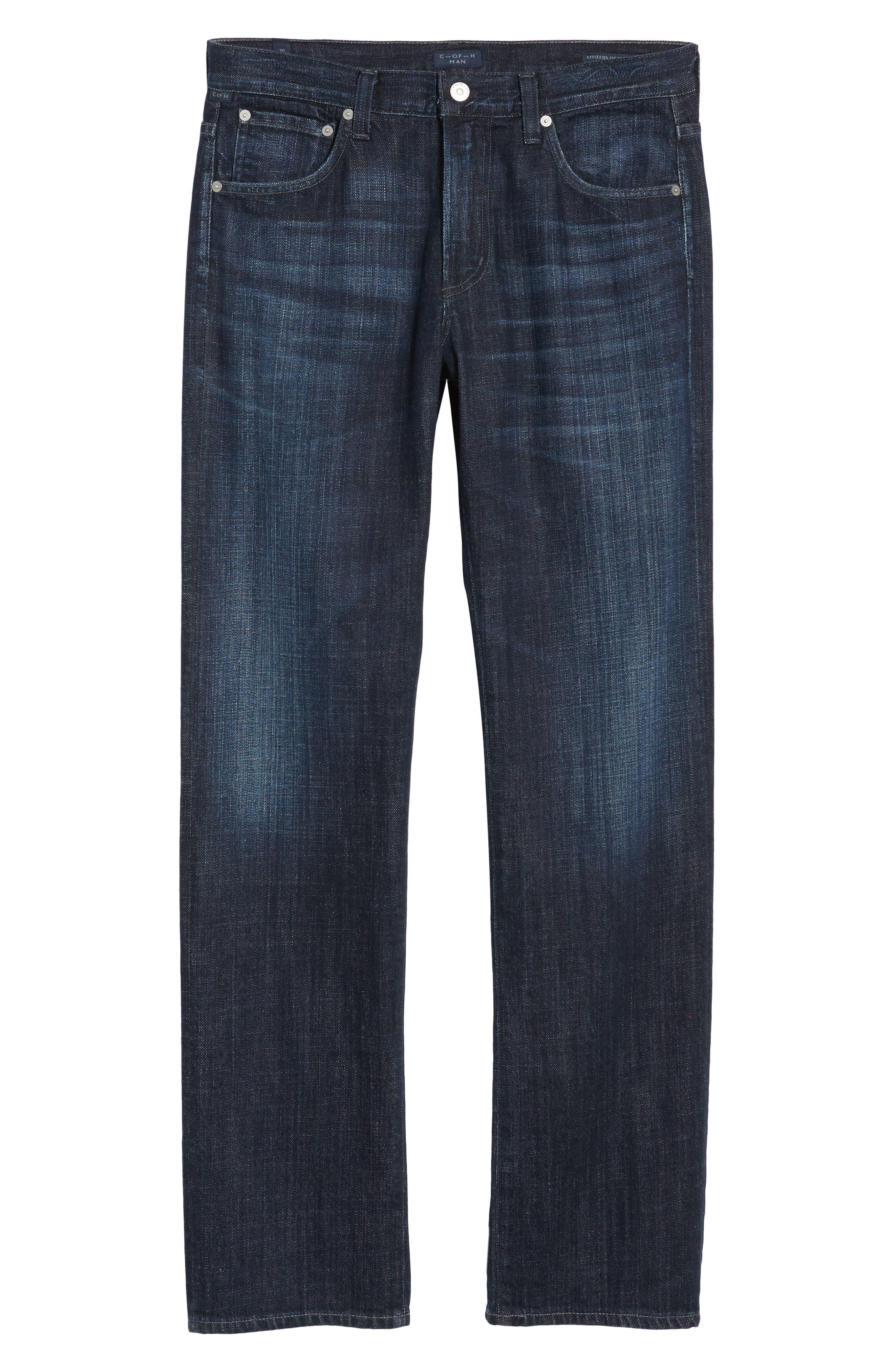 Sid Straight Leg Jeans,                             Alternate thumbnail 6, color,