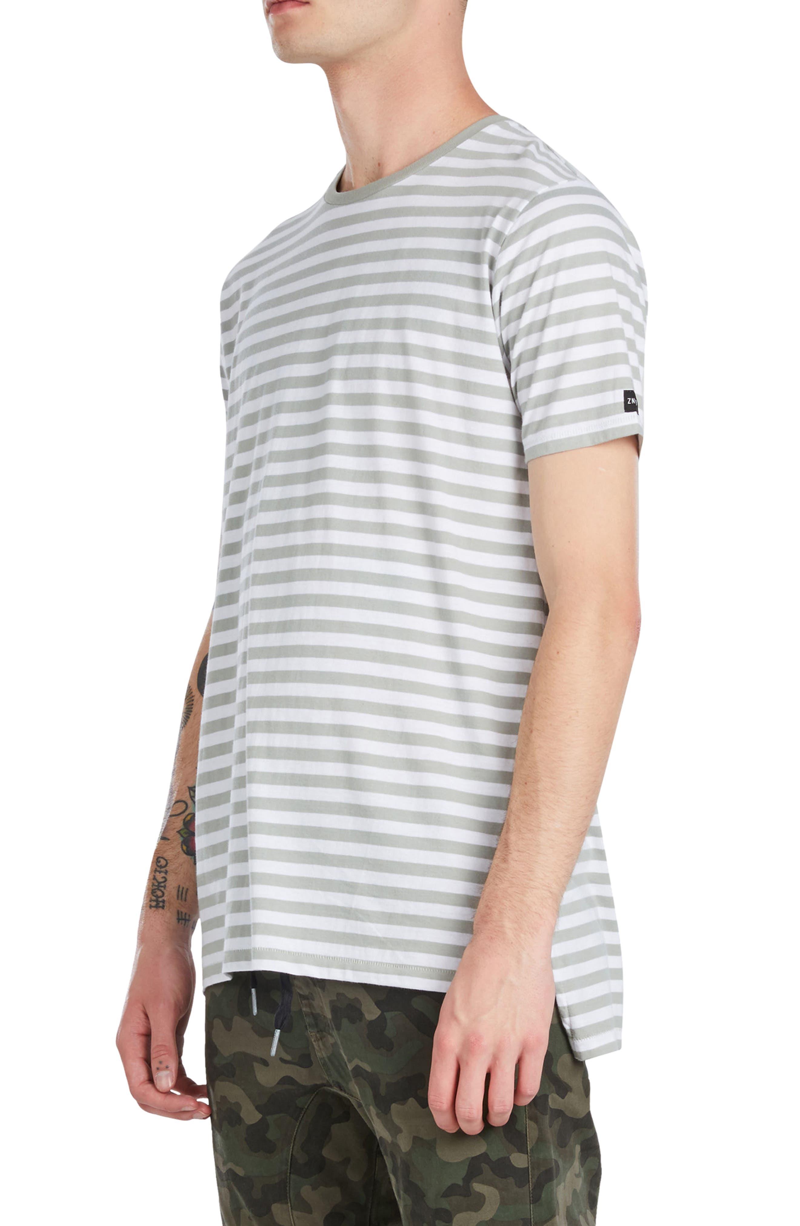 Flintlock Longline T-Shirt,                             Alternate thumbnail 3, color,                             340