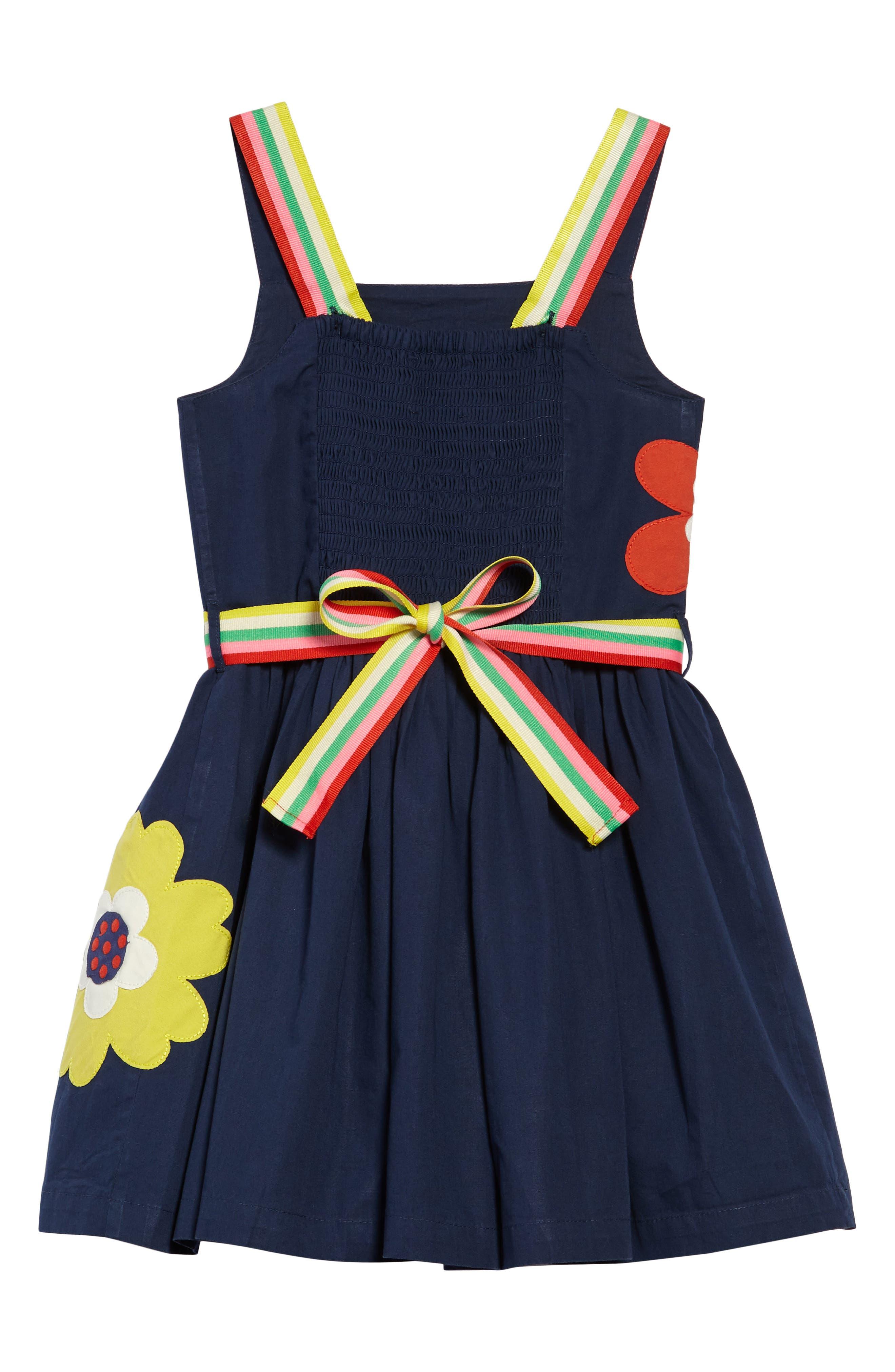 Bright Appliqué Dress,                             Alternate thumbnail 2, color,                             402