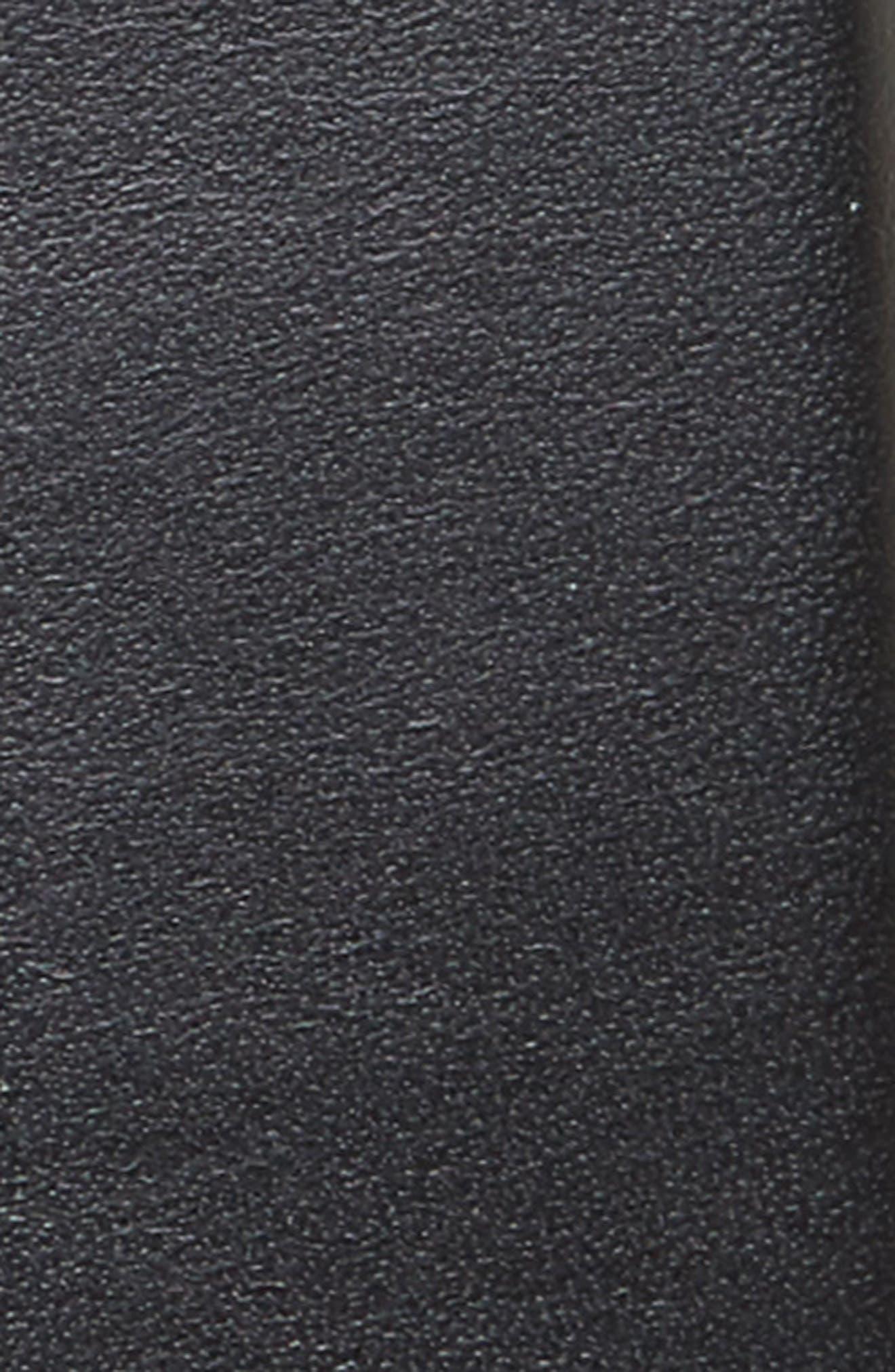 Lynden Leather Belt,                             Alternate thumbnail 2, color,                             001