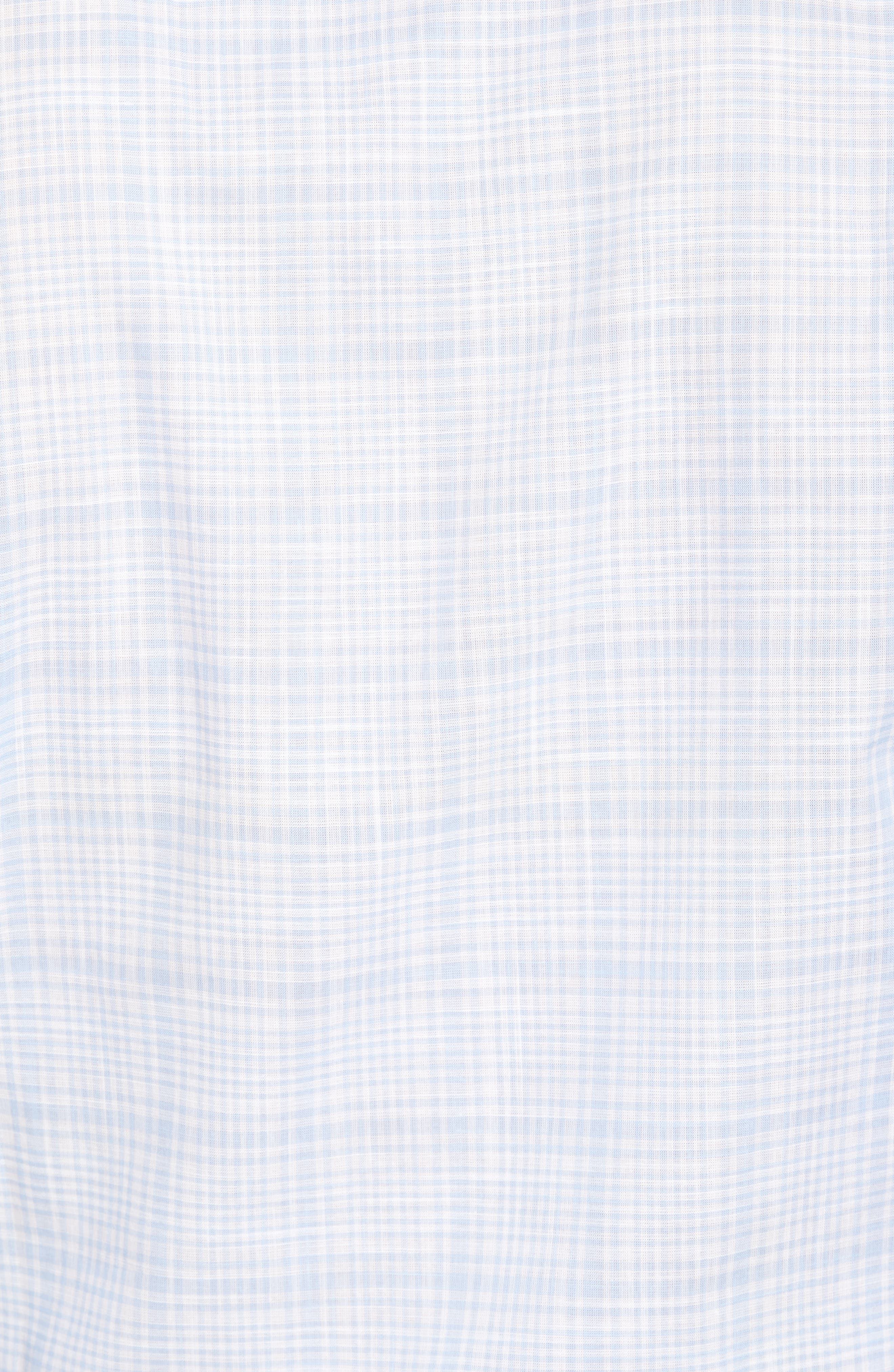 Laguna Plaid Sport Shirt,                             Alternate thumbnail 5, color,                             433