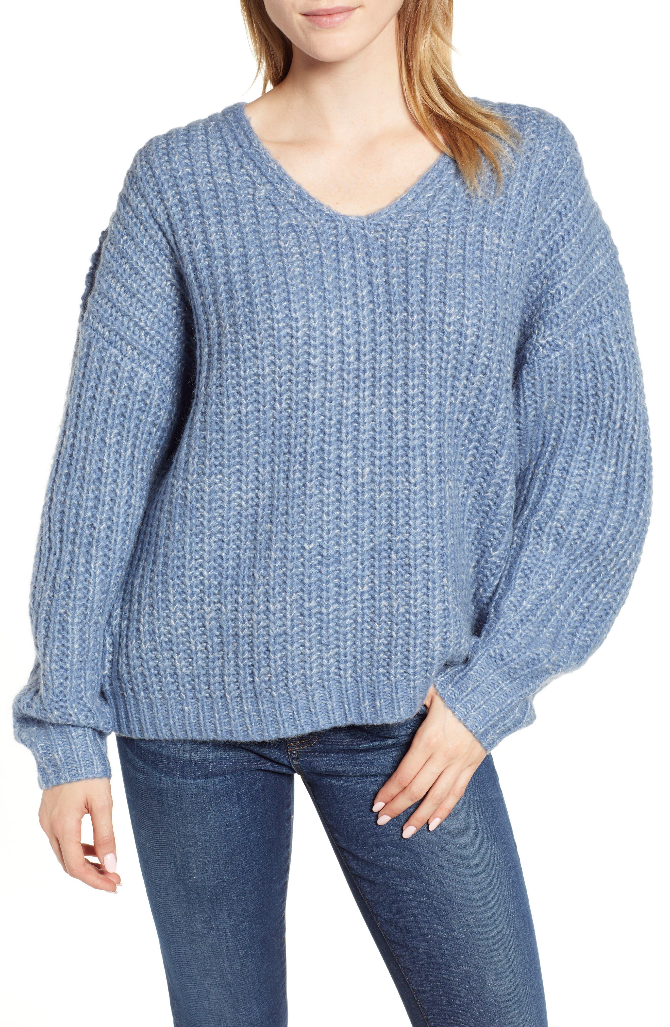Dorit Sweater,                         Main,                         color, BLUE