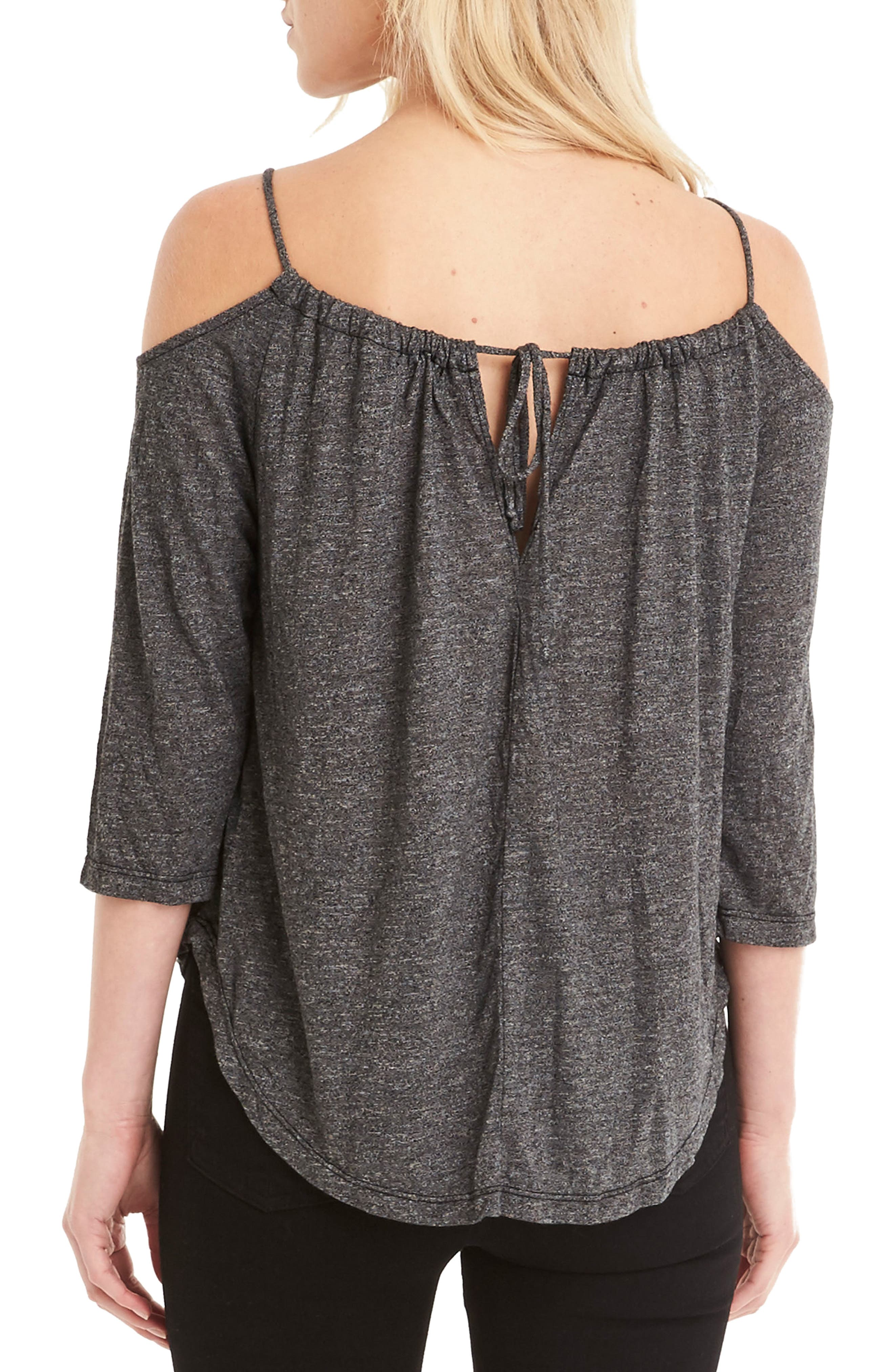 Switchable Off the Shoulder Top,                             Alternate thumbnail 2, color,                             001