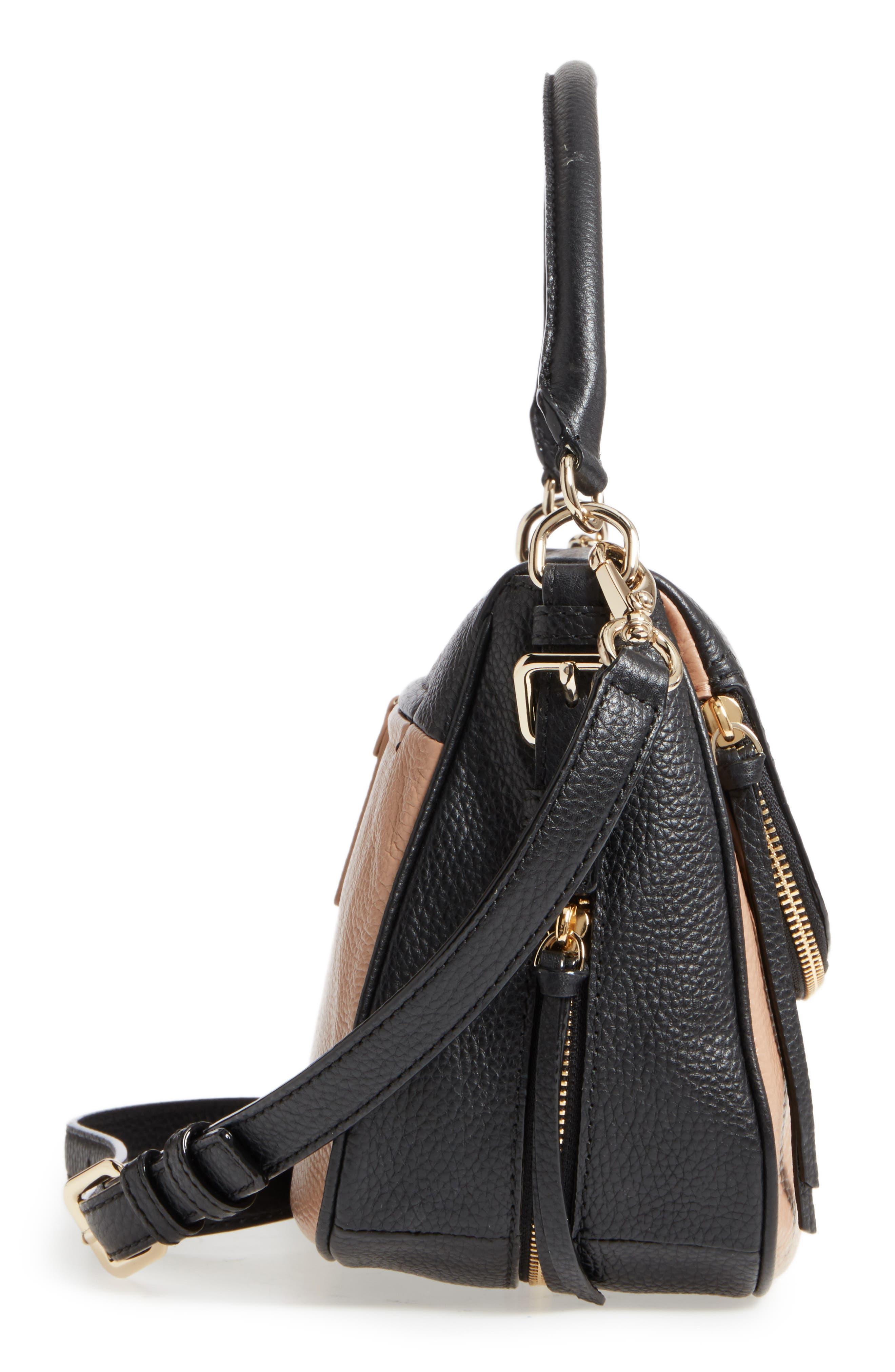 cobble hill - deva leather crossbody bag,                             Alternate thumbnail 31, color,