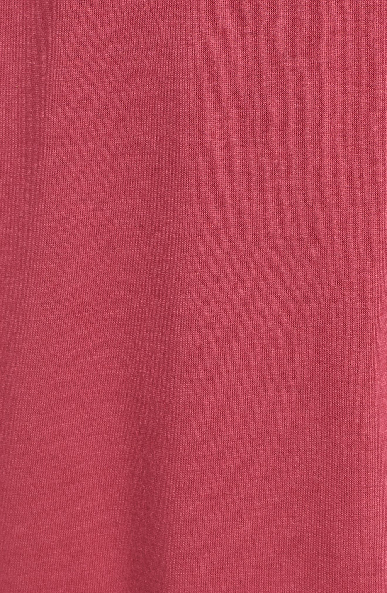 'Shangri-La' Robe,                             Alternate thumbnail 5, color,                             RUB RUBY