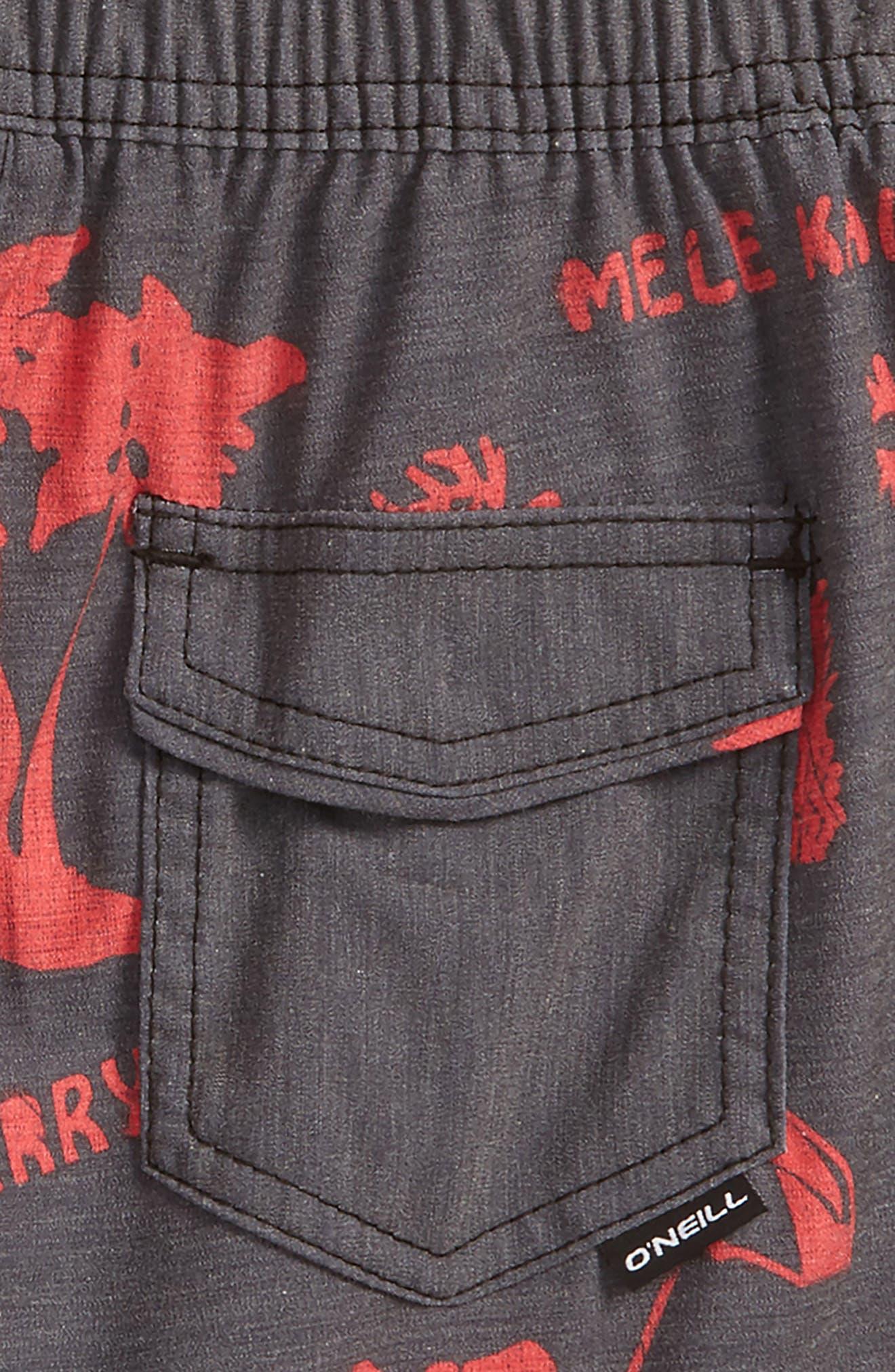 Hyperfreak Frost Board Shorts,                             Alternate thumbnail 3, color,                             001