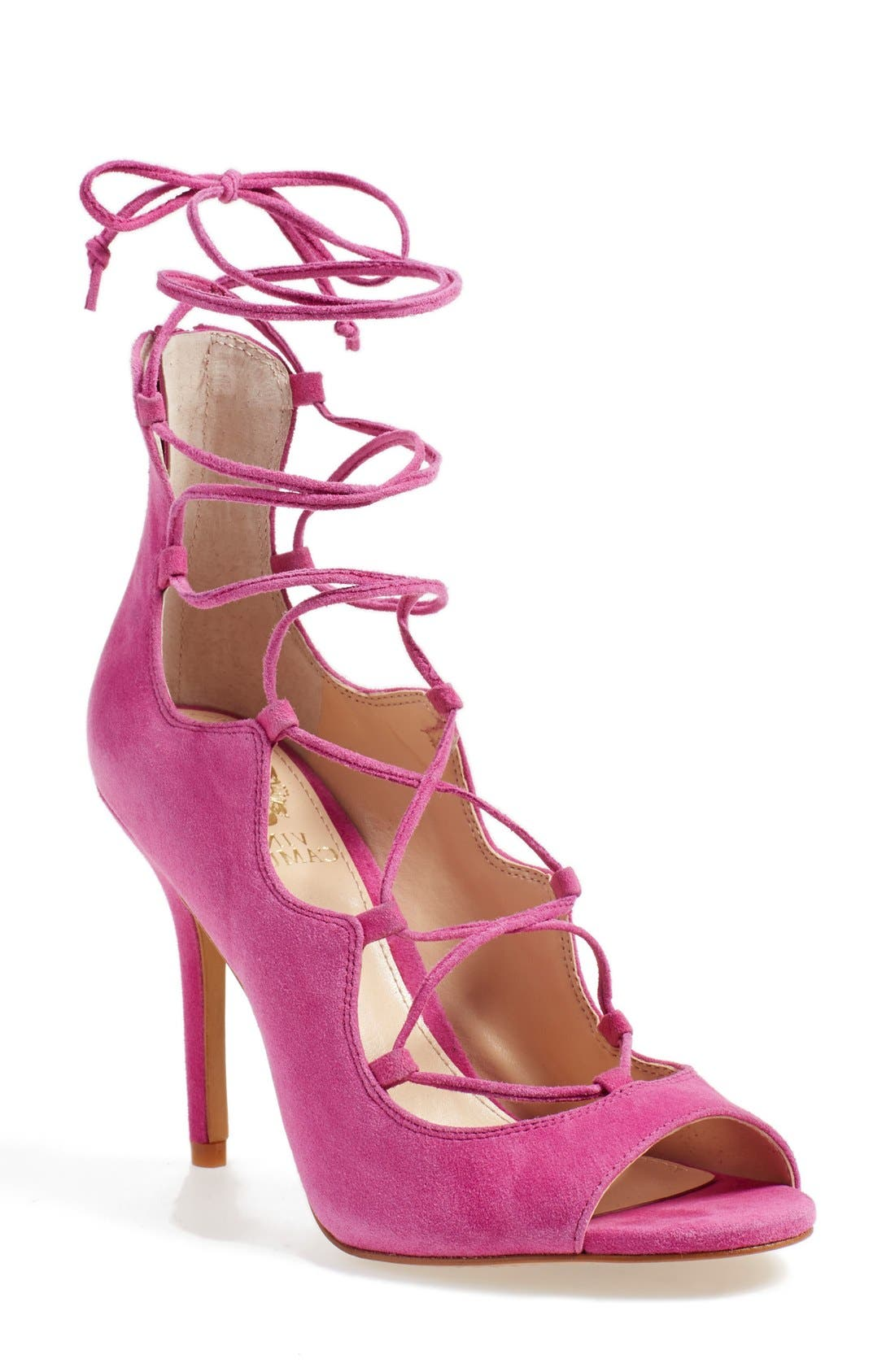'Sandria' Peep Toe Ghillie Sandal,                             Main thumbnail 5, color,