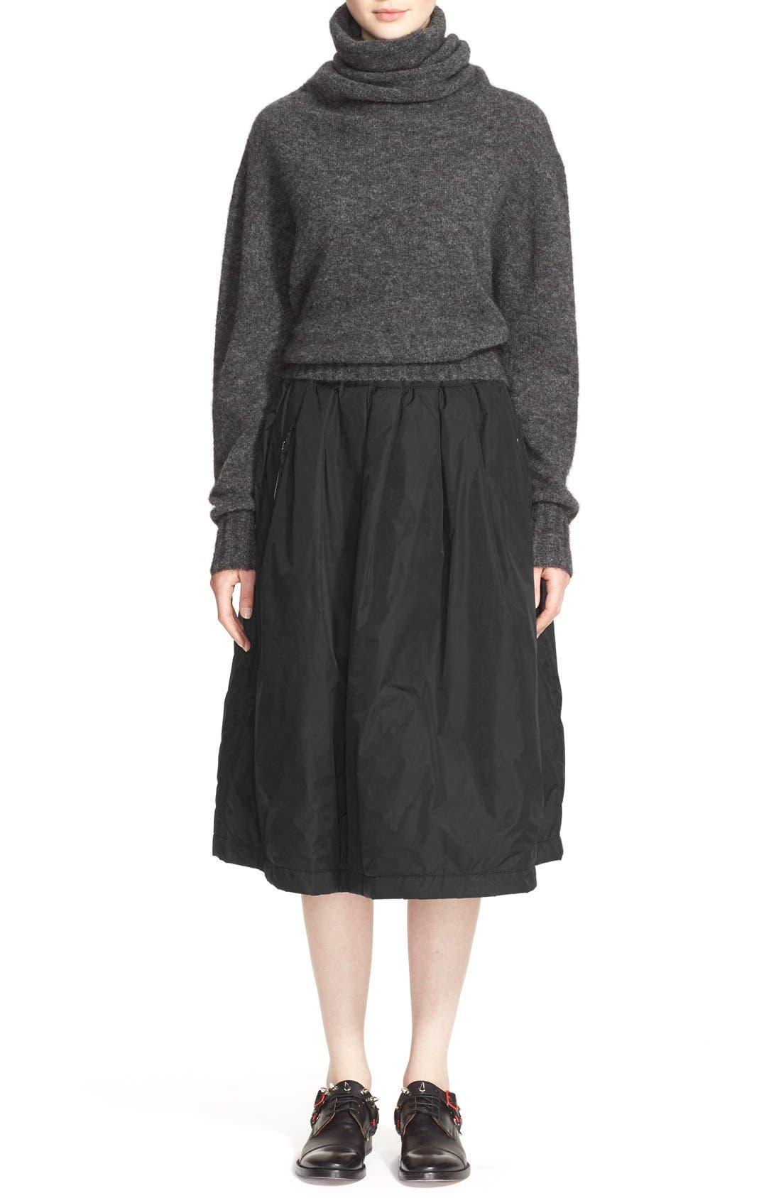 'Voletta Mohair' Turtleneck Sweater,                             Alternate thumbnail 6, color,                             021