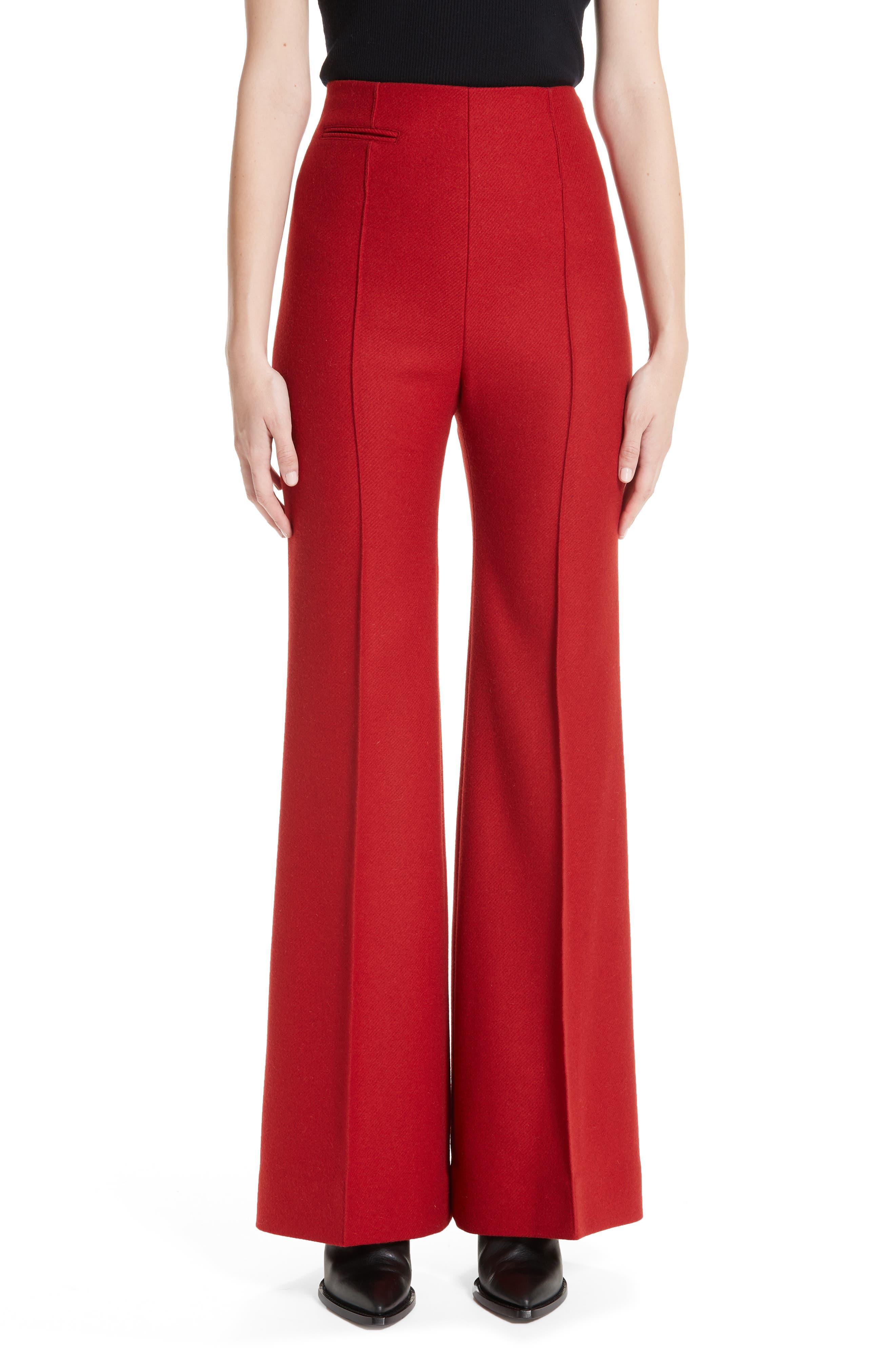 KWAIDAN EDITIONS Wide Leg Wool Pants, Main, color, 600