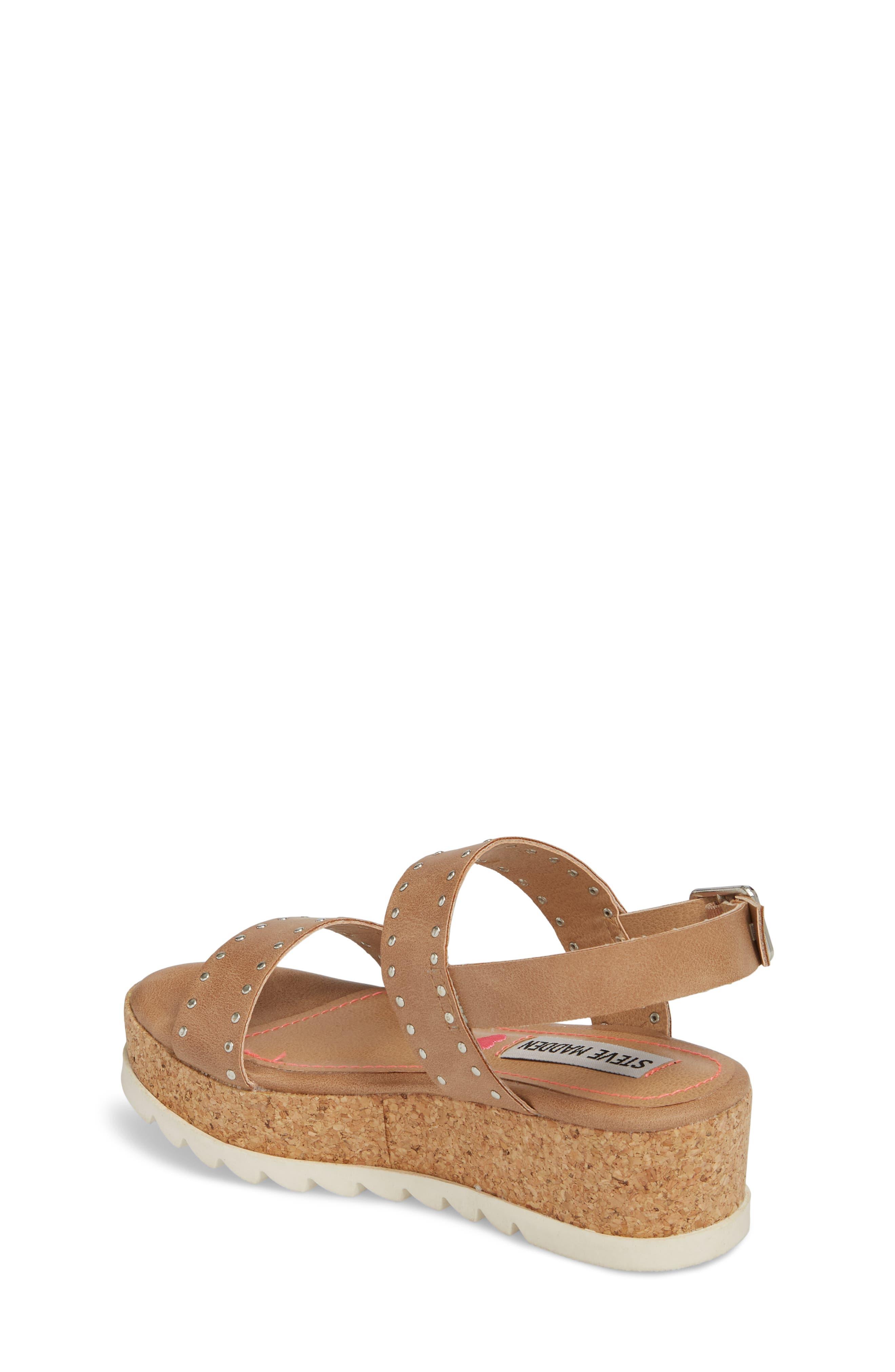 STEVE MADDEN,                             JKRISTIE Platform Sandal,                             Alternate thumbnail 2, color,                             200