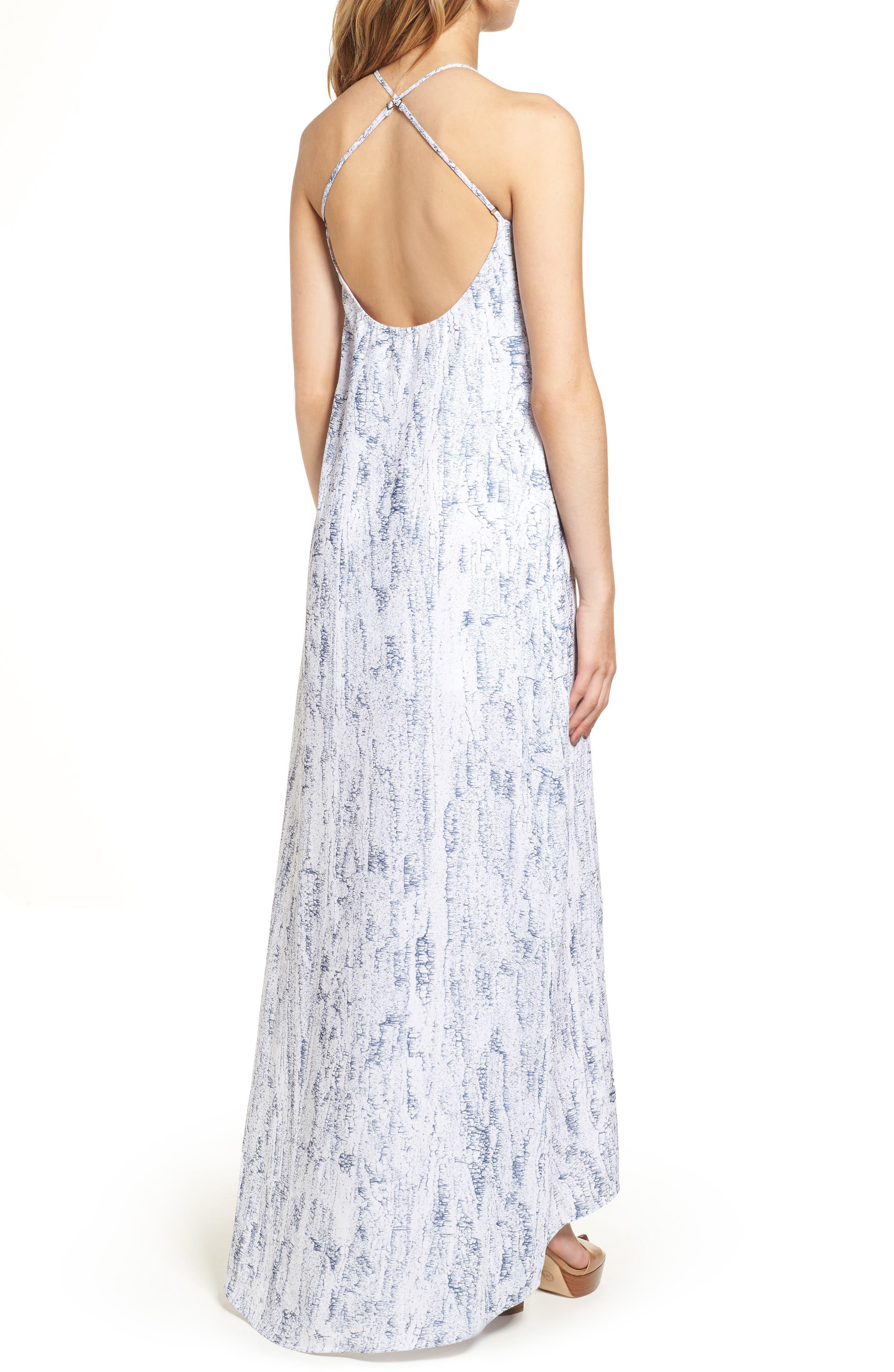 Halter Maxi Dress,                             Alternate thumbnail 2, color,                             402