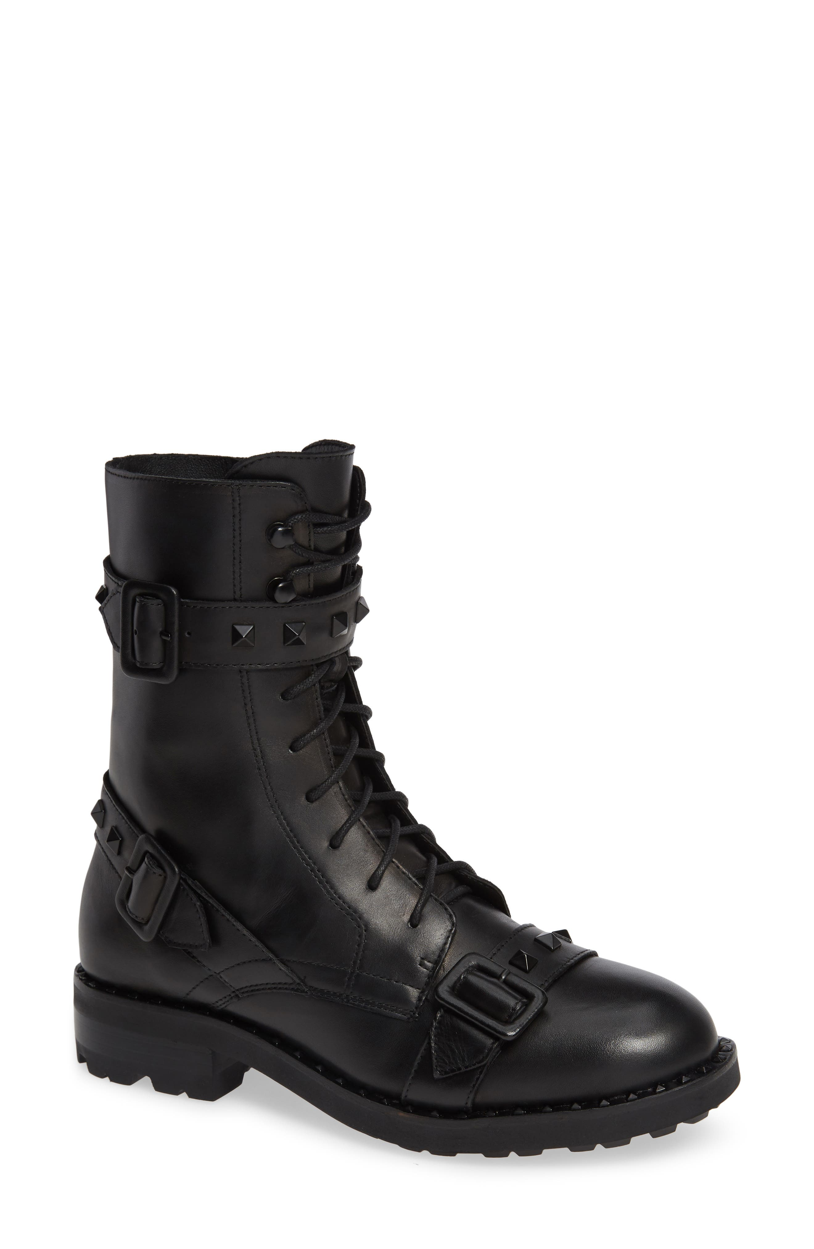 Ash Witch Combat Boot Black