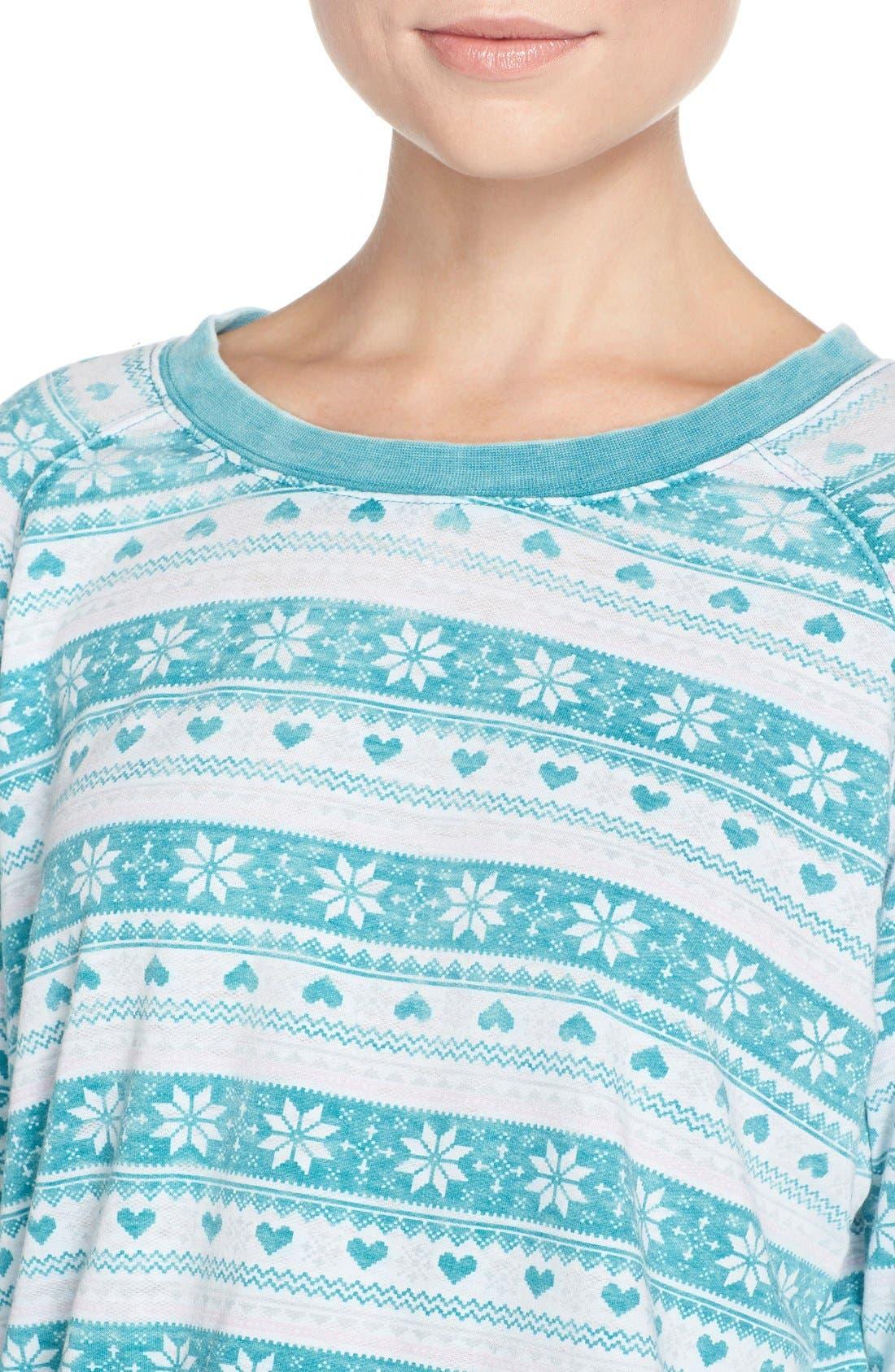 Burnout Lounge Sweatshirt,                             Alternate thumbnail 223, color,
