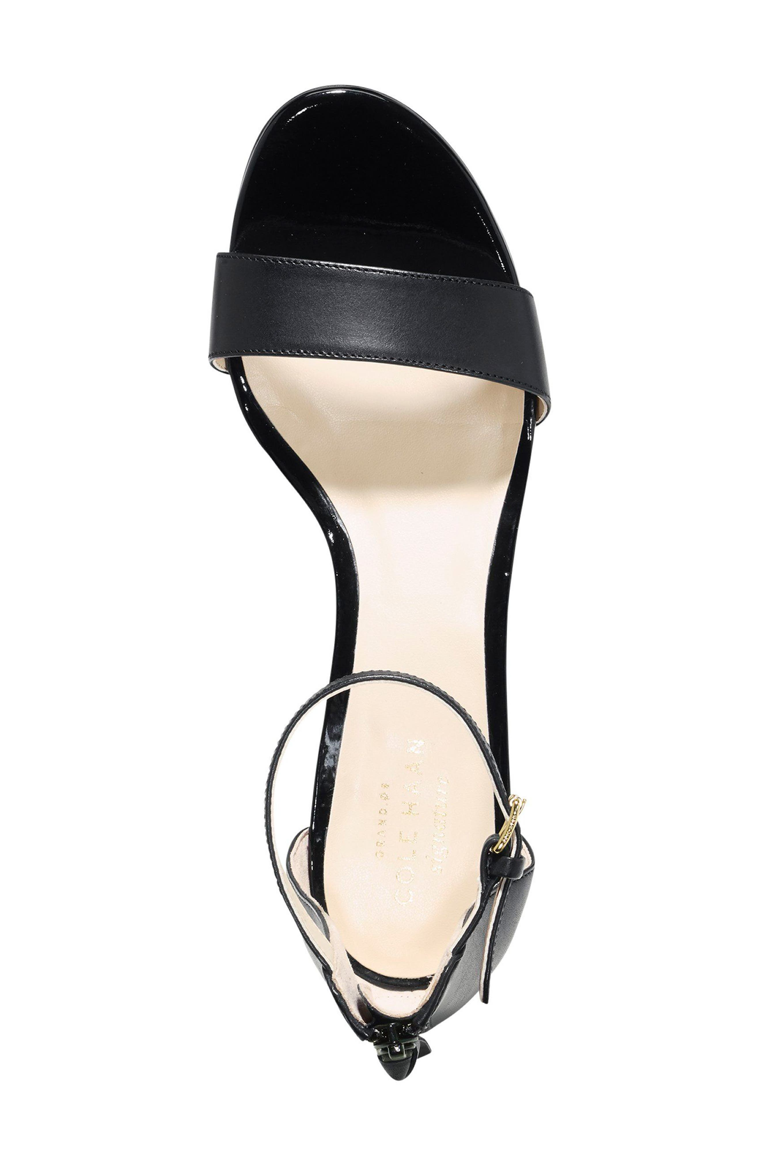 COLE HAAN,                             Adderly Sandal,                             Alternate thumbnail 3, color,                             001