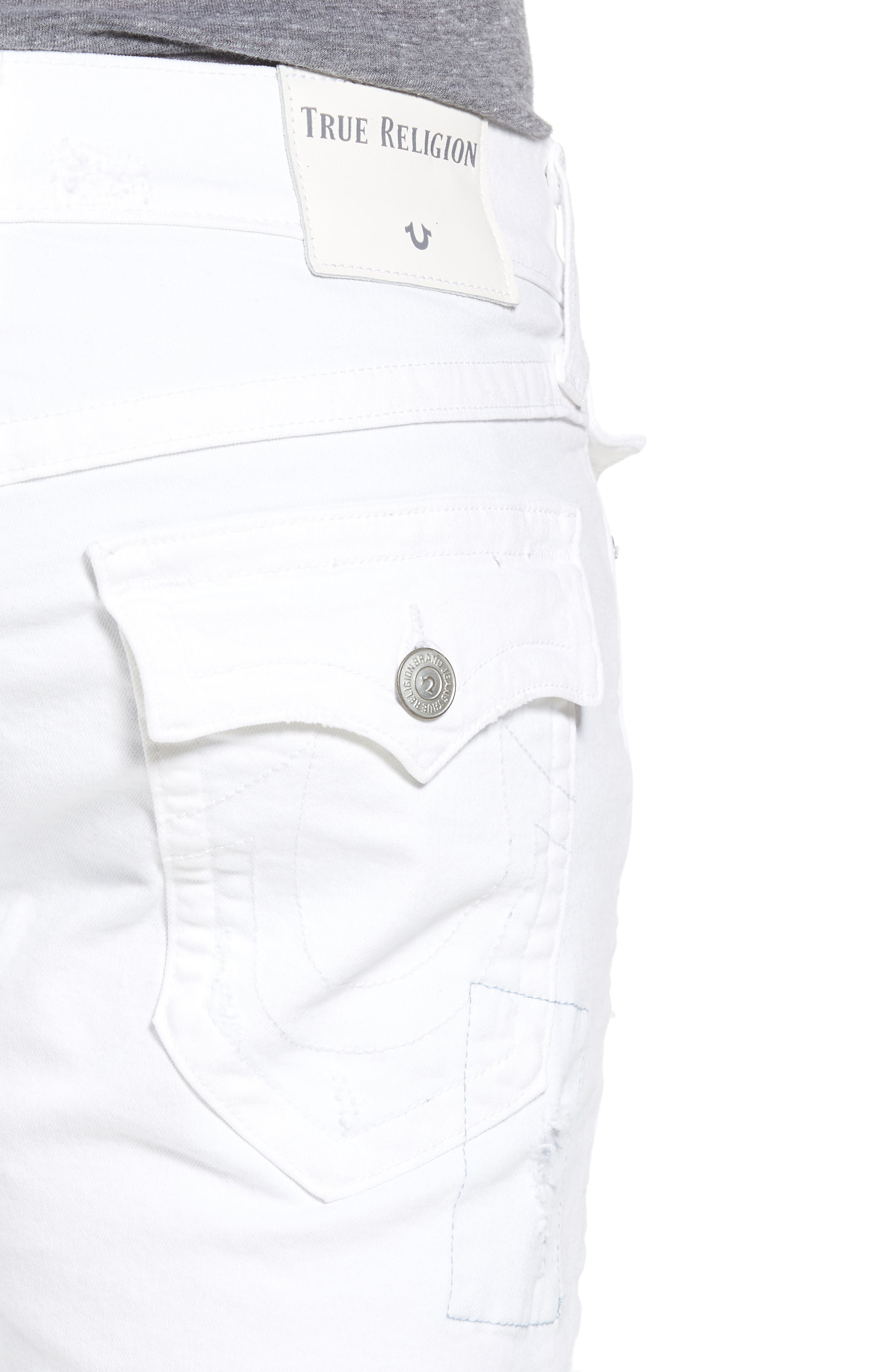Ricky Relaxed Fit Denim Shorts,                             Alternate thumbnail 4, color,                             401