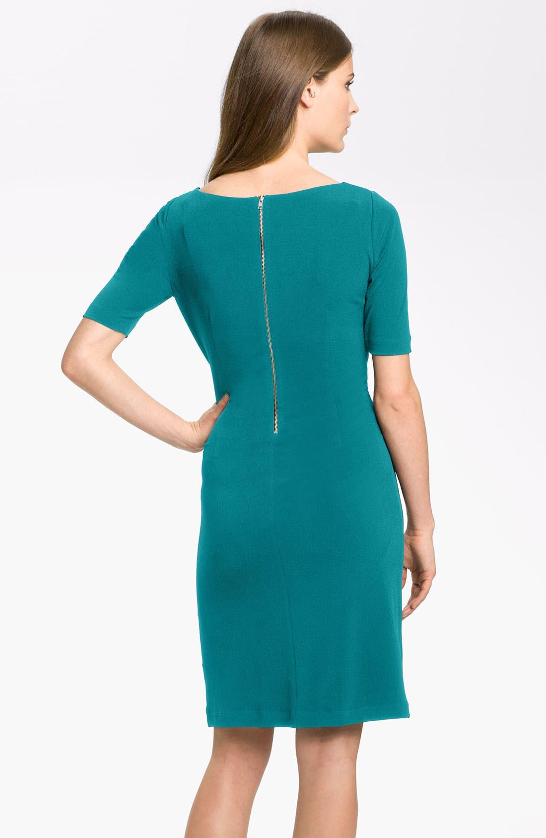 by Arthur S. Levine 'Kevin' Jersey Sheath Dress,                             Alternate thumbnail 11, color,