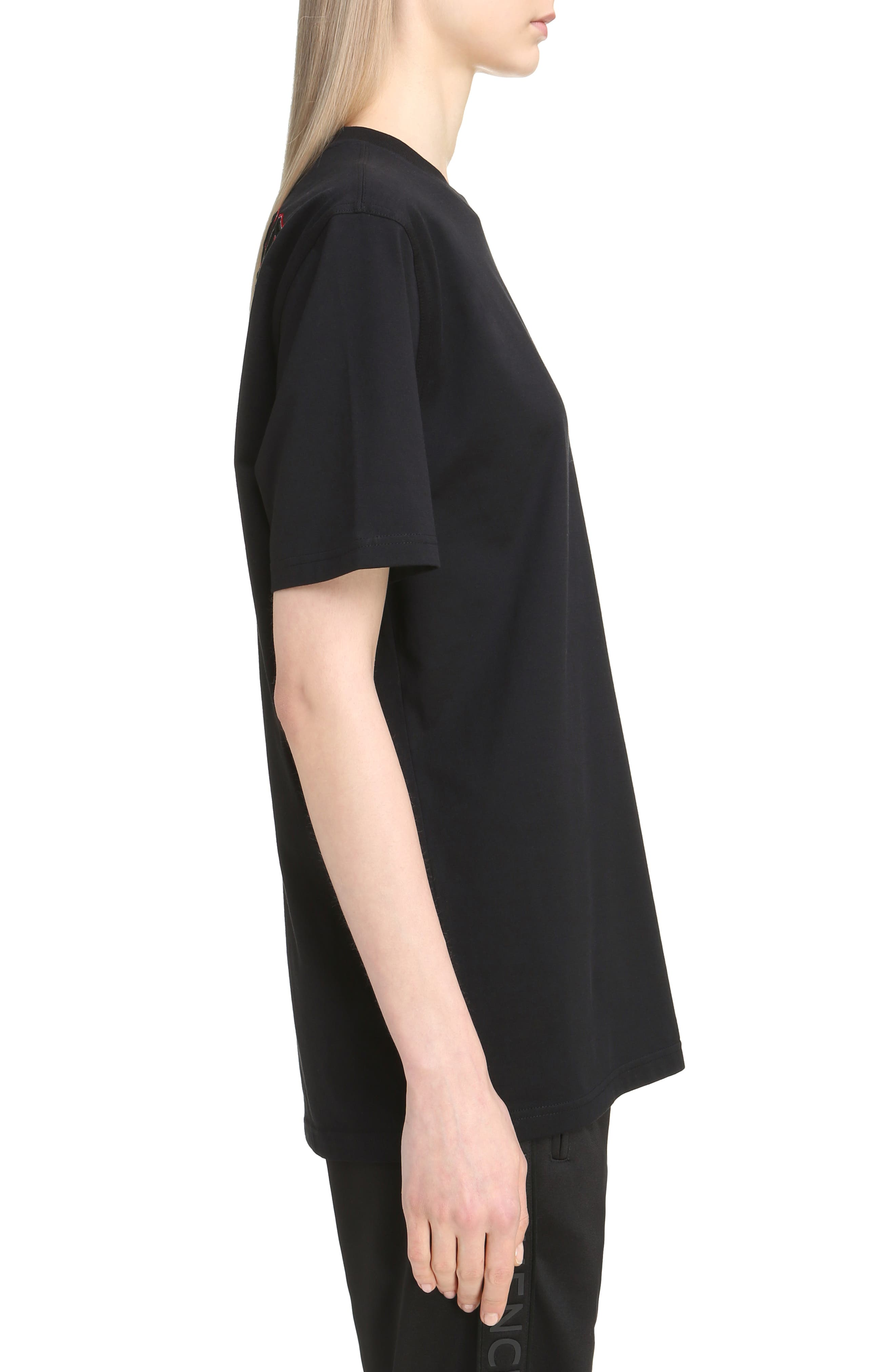 Realize Embroidered Tee,                             Alternate thumbnail 3, color,                             001