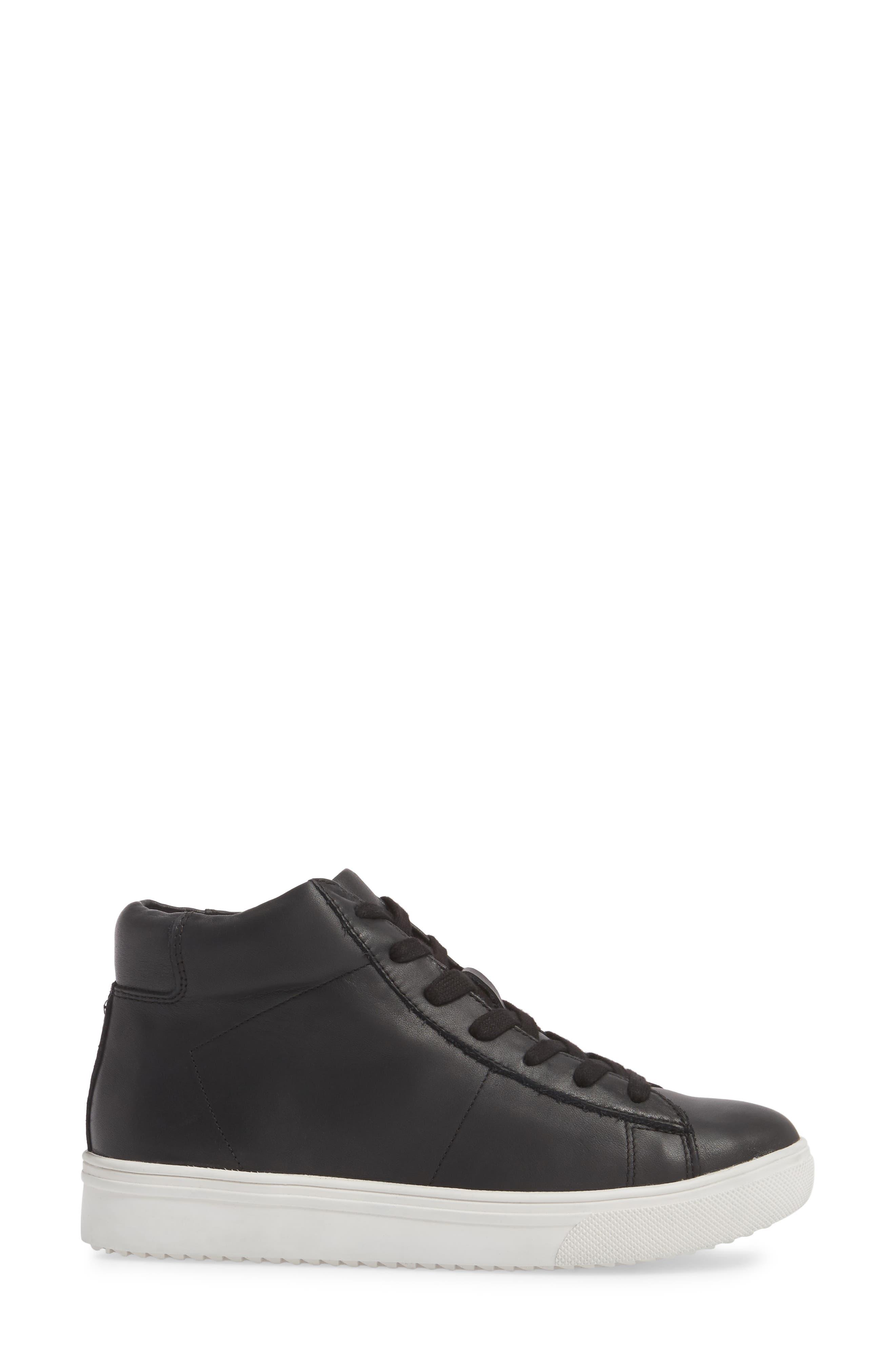 Jax Waterproof High Top Sneaker,                             Alternate thumbnail 9, color,