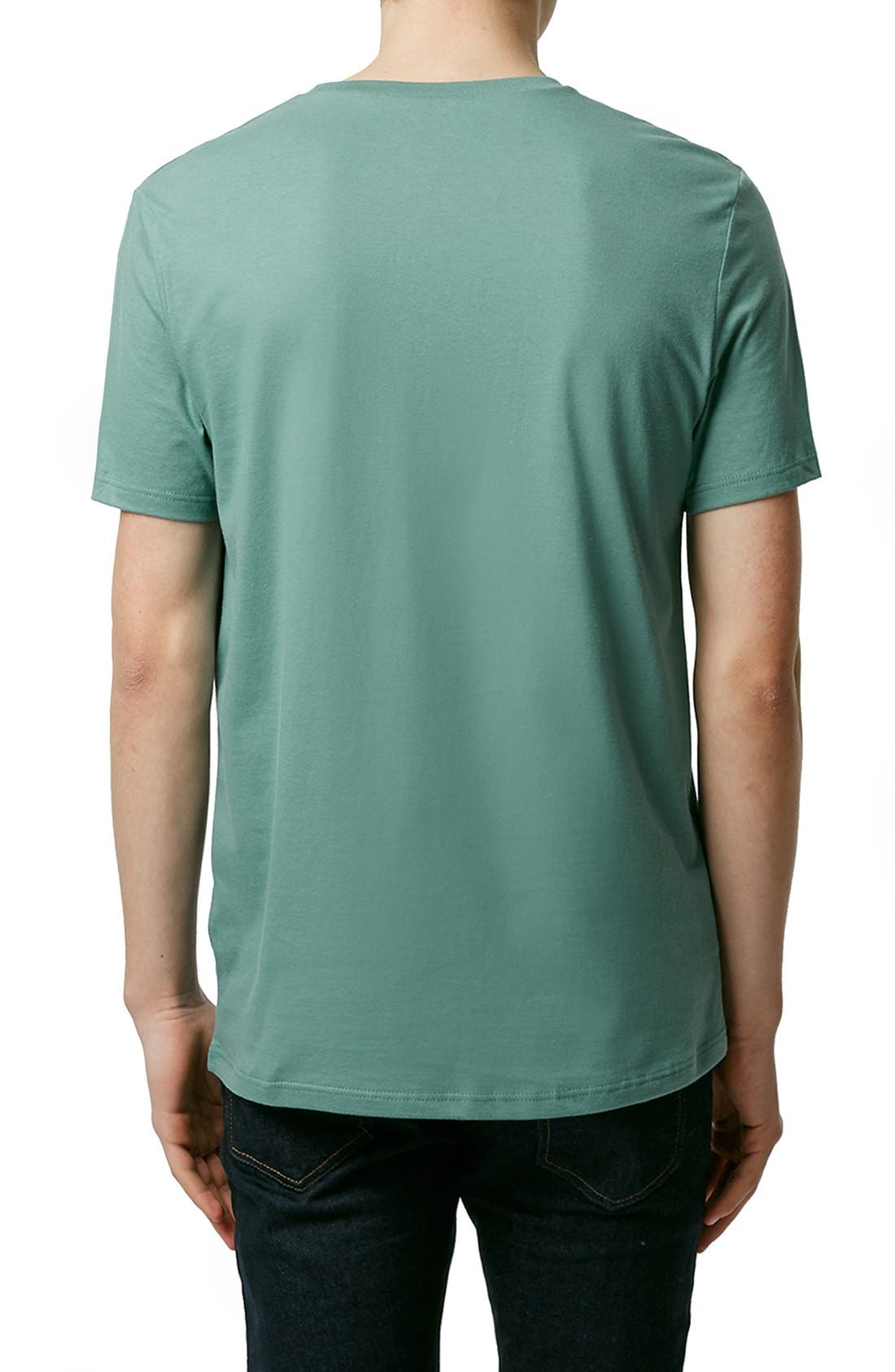 Slim Fit Crewneck T-Shirt,                             Alternate thumbnail 340, color,