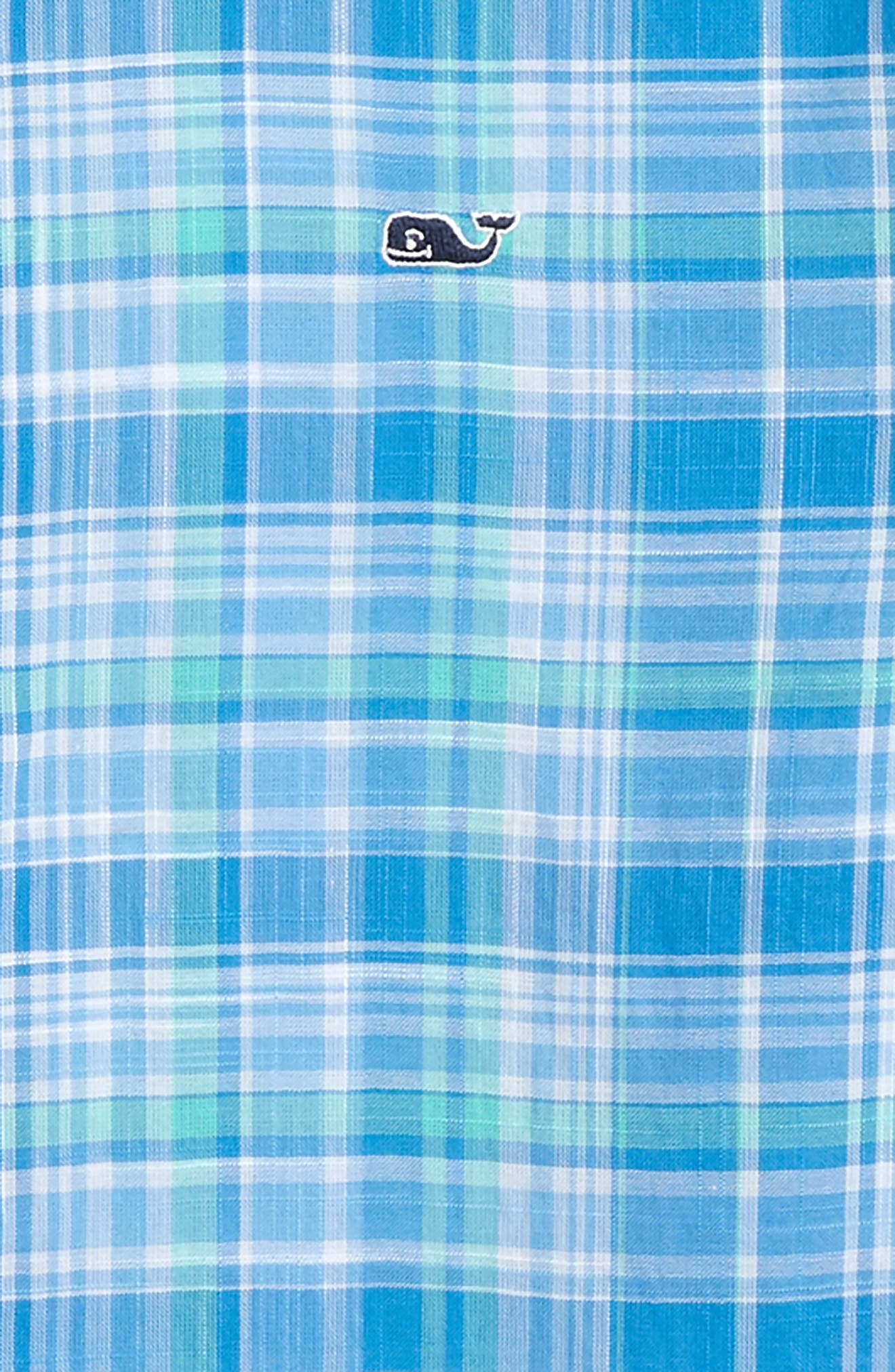 VINEYARD VINES,                             New Providence Beach Plaid Woven Shirt,                             Alternate thumbnail 2, color,                             359