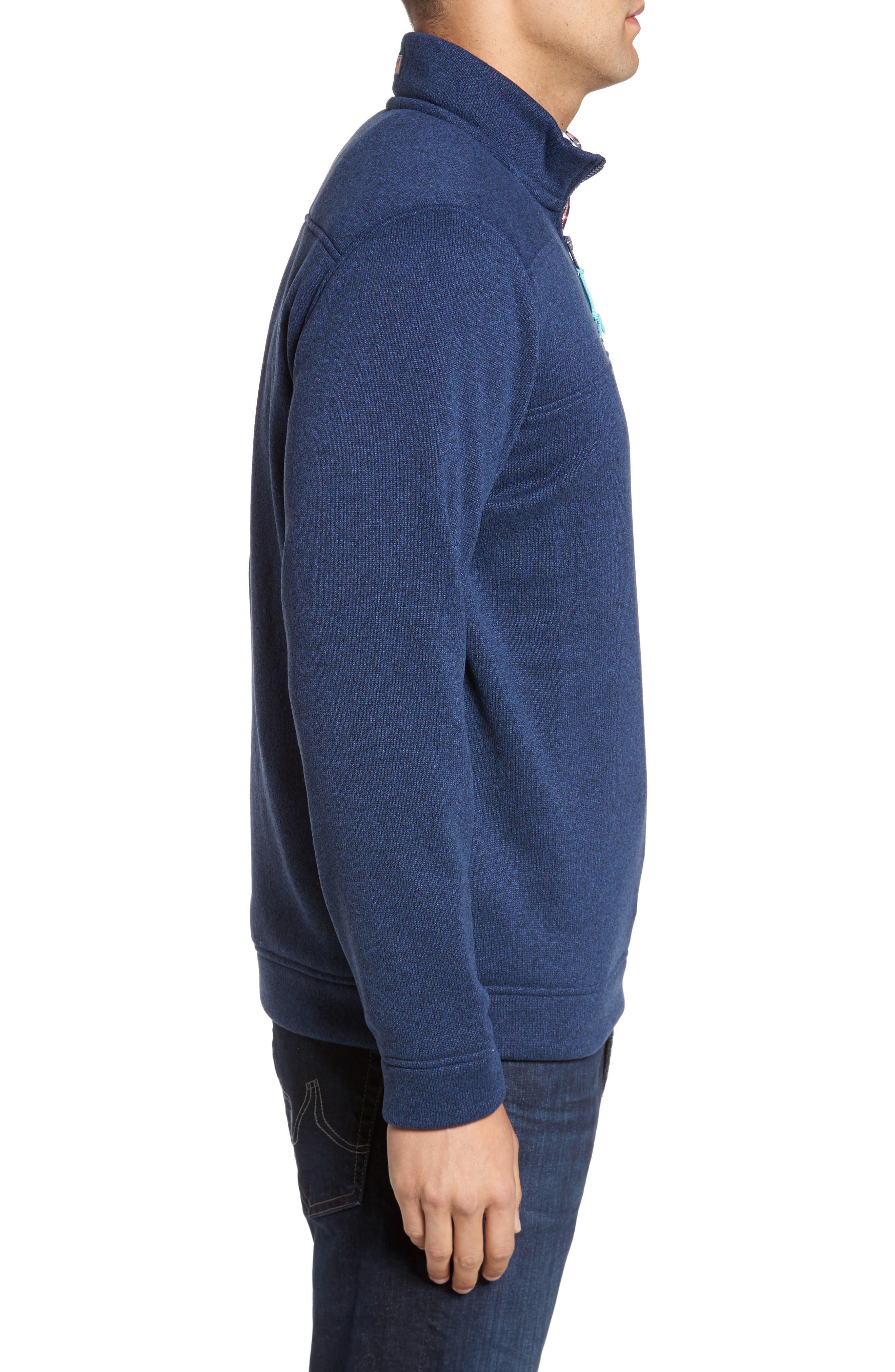 Shep Sweater Fleece Quarter Zip Pullover,                             Alternate thumbnail 6, color,