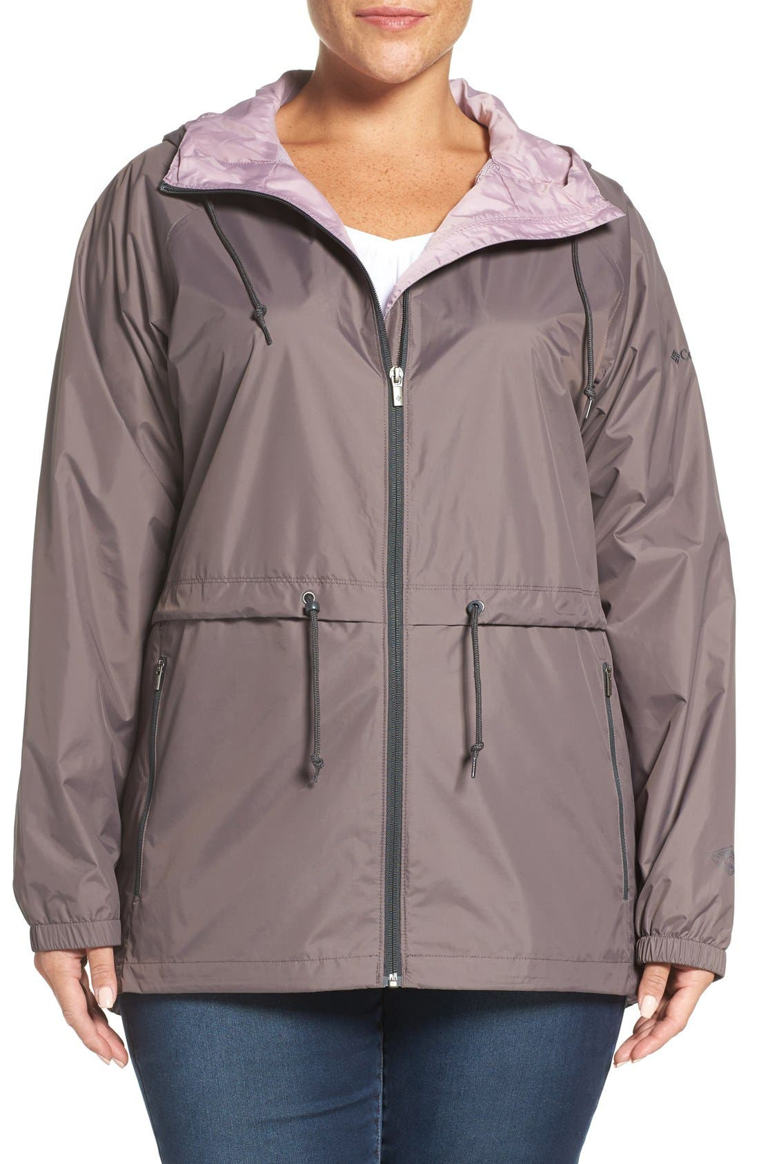 'Arcadia' Hooded Waterproof Casual Jacket,                             Main thumbnail 9, color,