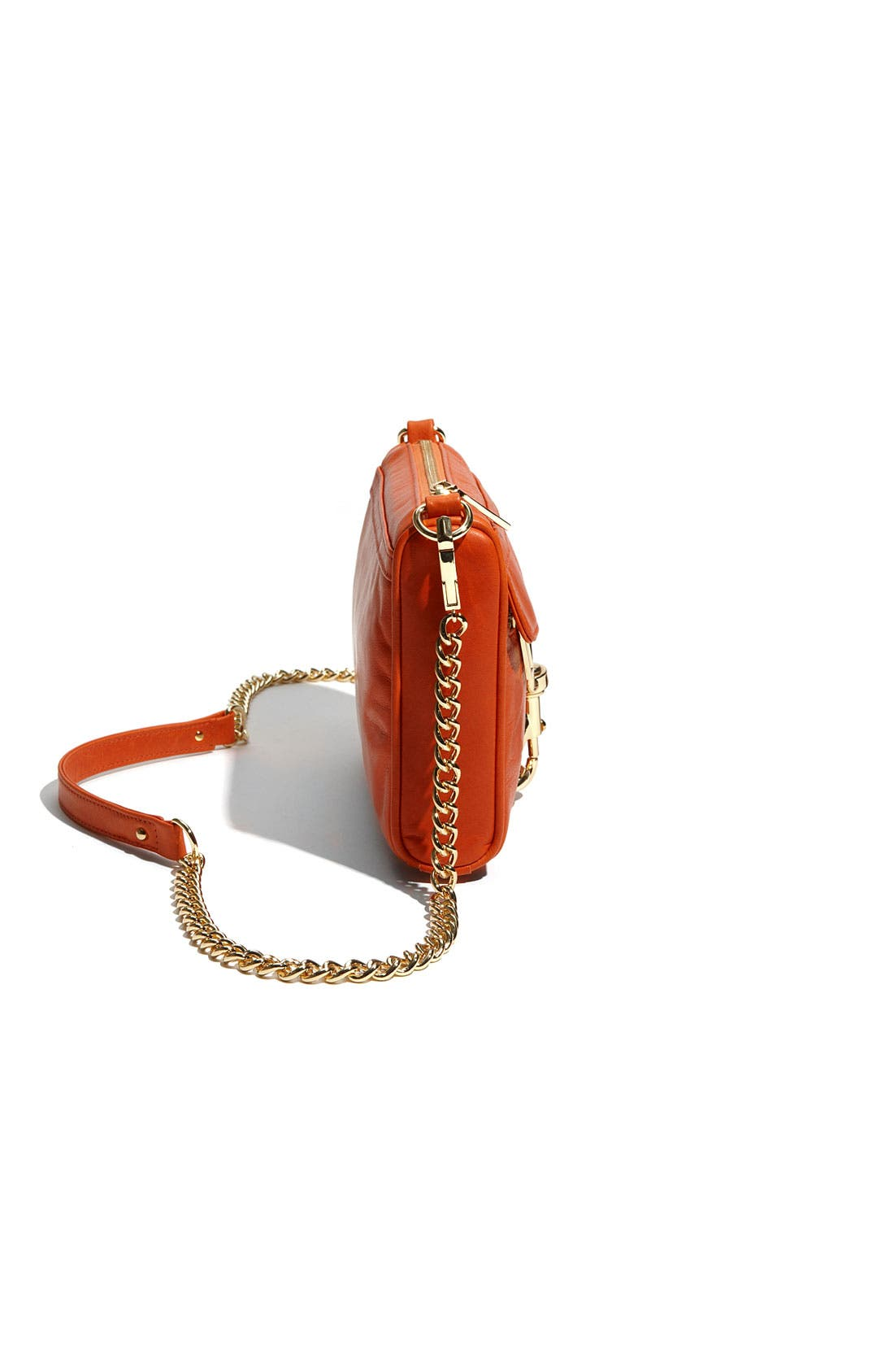 'Mini MAC' Croc Embossed Convertible Crossbody Bag,                             Alternate thumbnail 27, color,