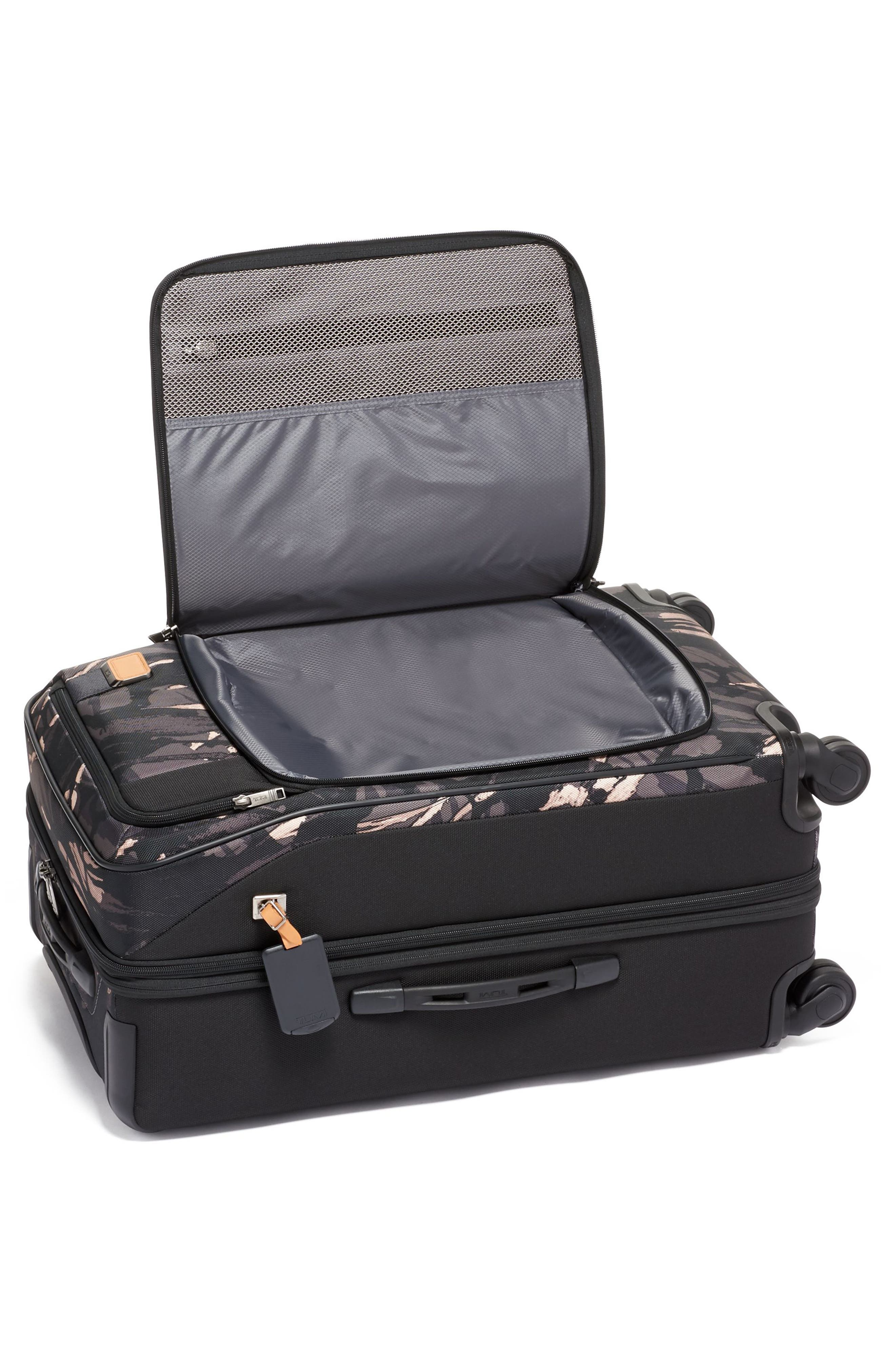 Merge Short Trip Expandable Rolling Packing Case,                             Alternate thumbnail 5, color,                             GREY HIGHLANDS PRINT