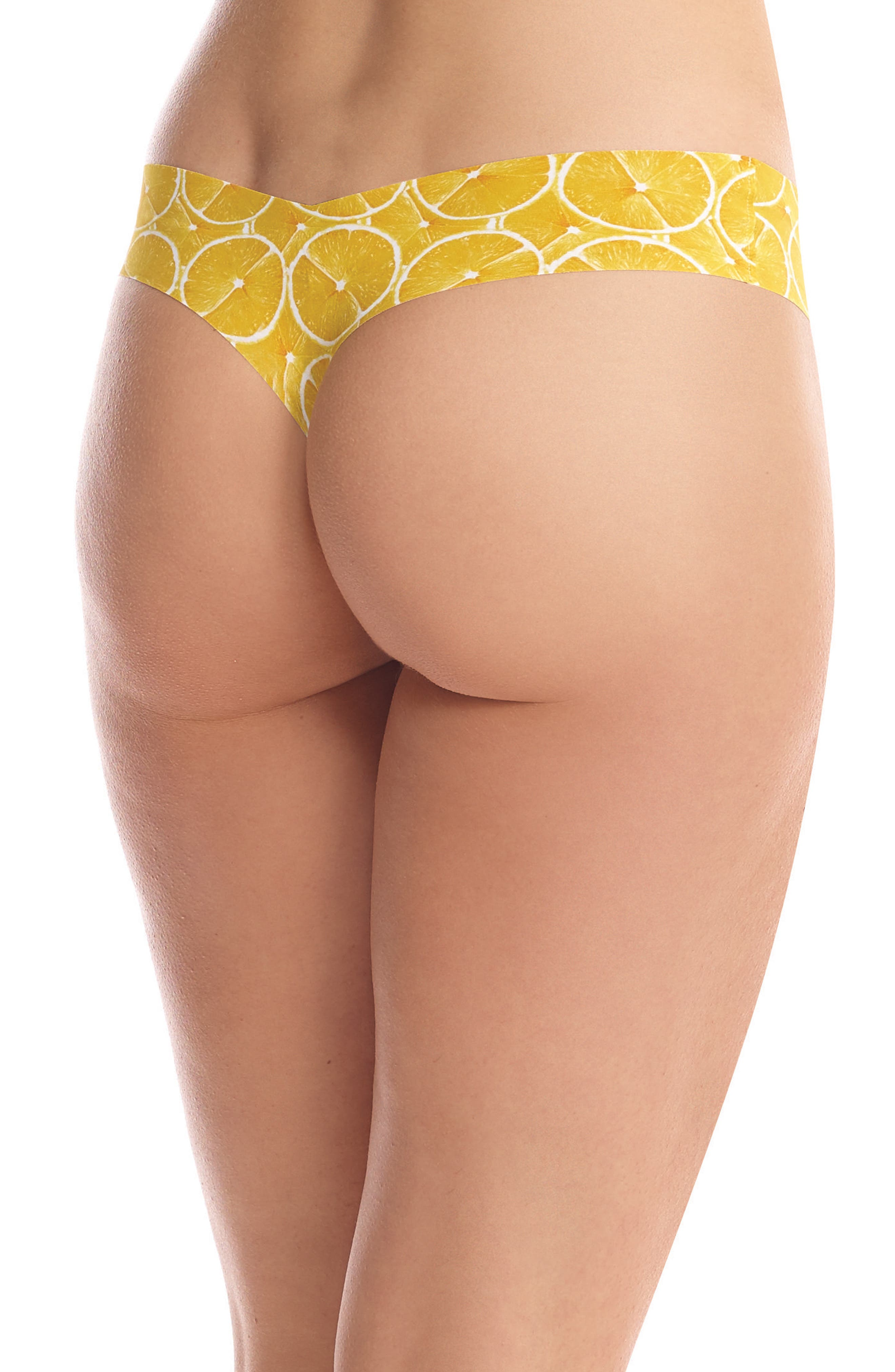 Print Microfiber Thong,                             Alternate thumbnail 127, color,