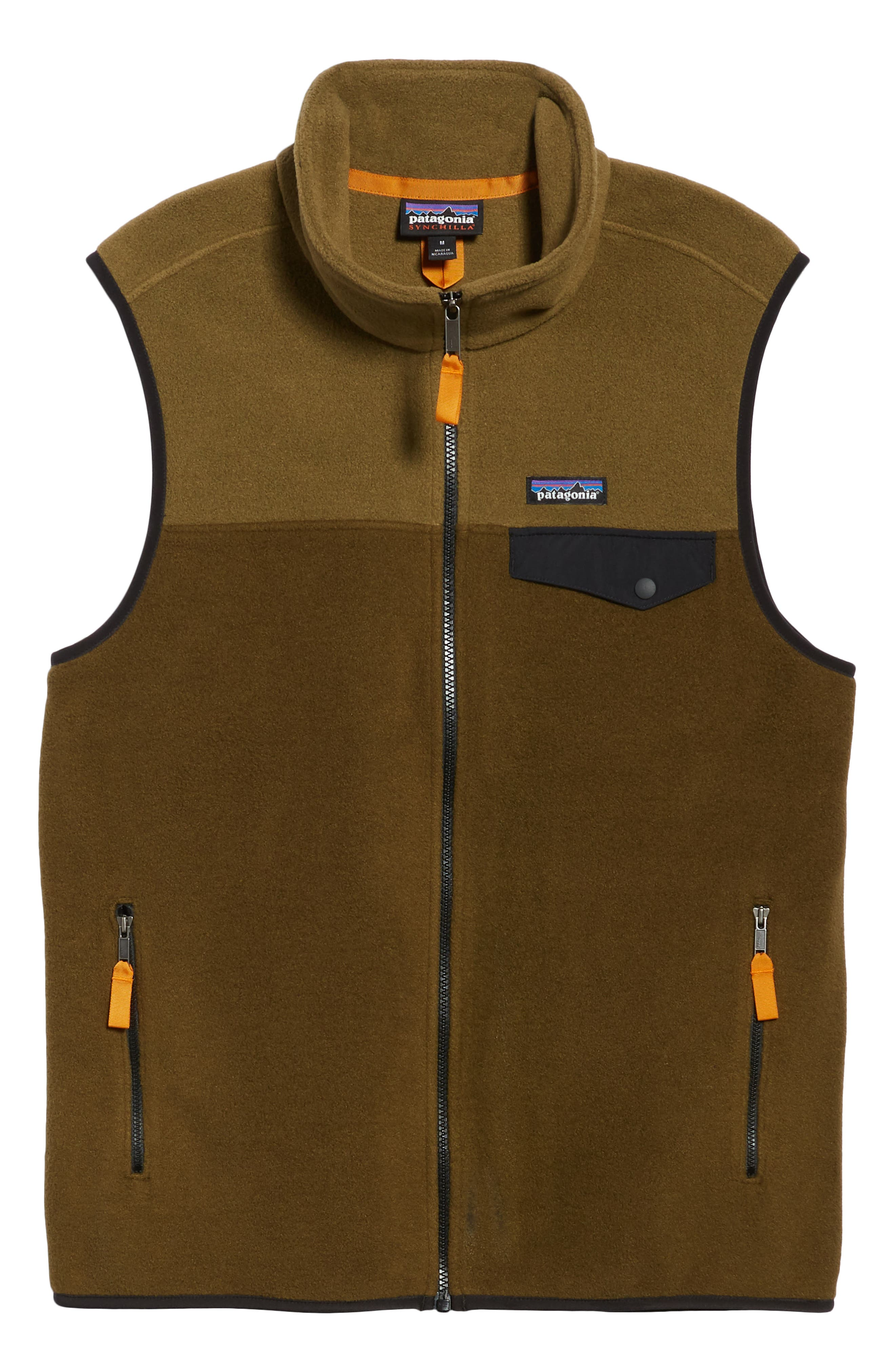PATAGONIA,                             Synchilla<sup>®</sup>Snap-T<sup>®</sup> Zip FleeceVest,                             Alternate thumbnail 6, color,                             201