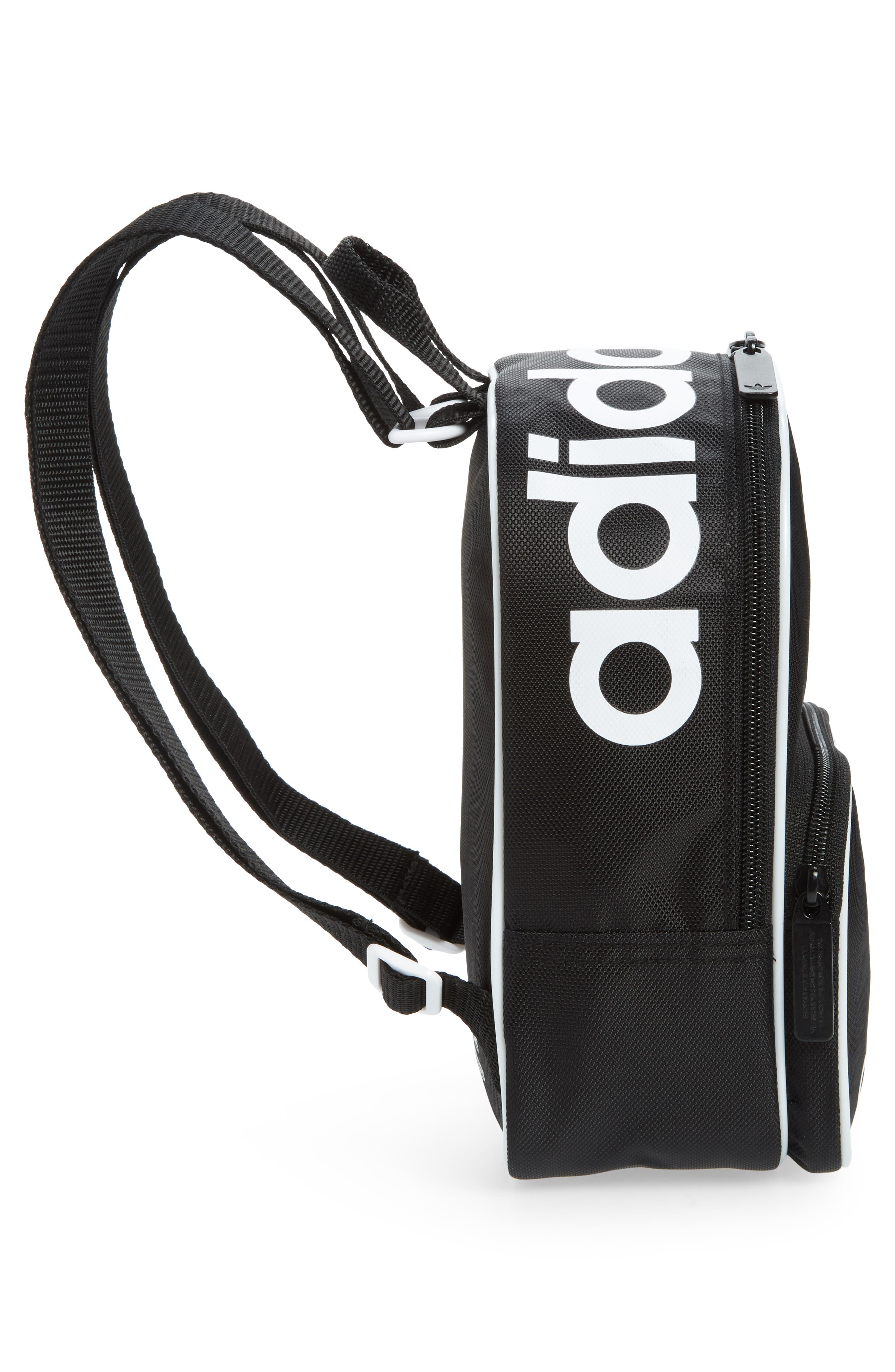 Originals Santiago Mini Backpack,                             Alternate thumbnail 4, color,                             BLACK