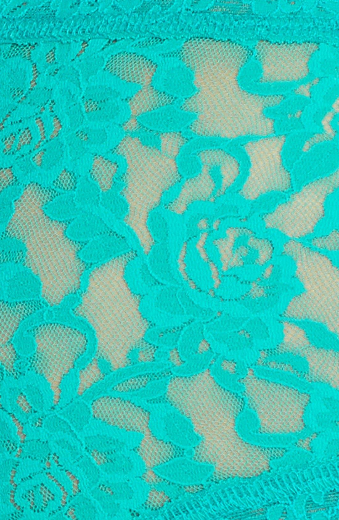 'Signature Lace' Boyshorts,                             Alternate thumbnail 300, color,