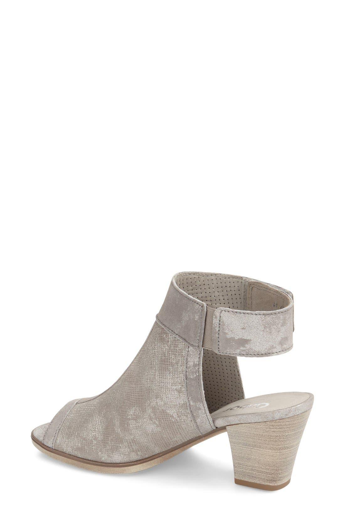 Open Toe Leather Sandal,                             Alternate thumbnail 2, color,                             040