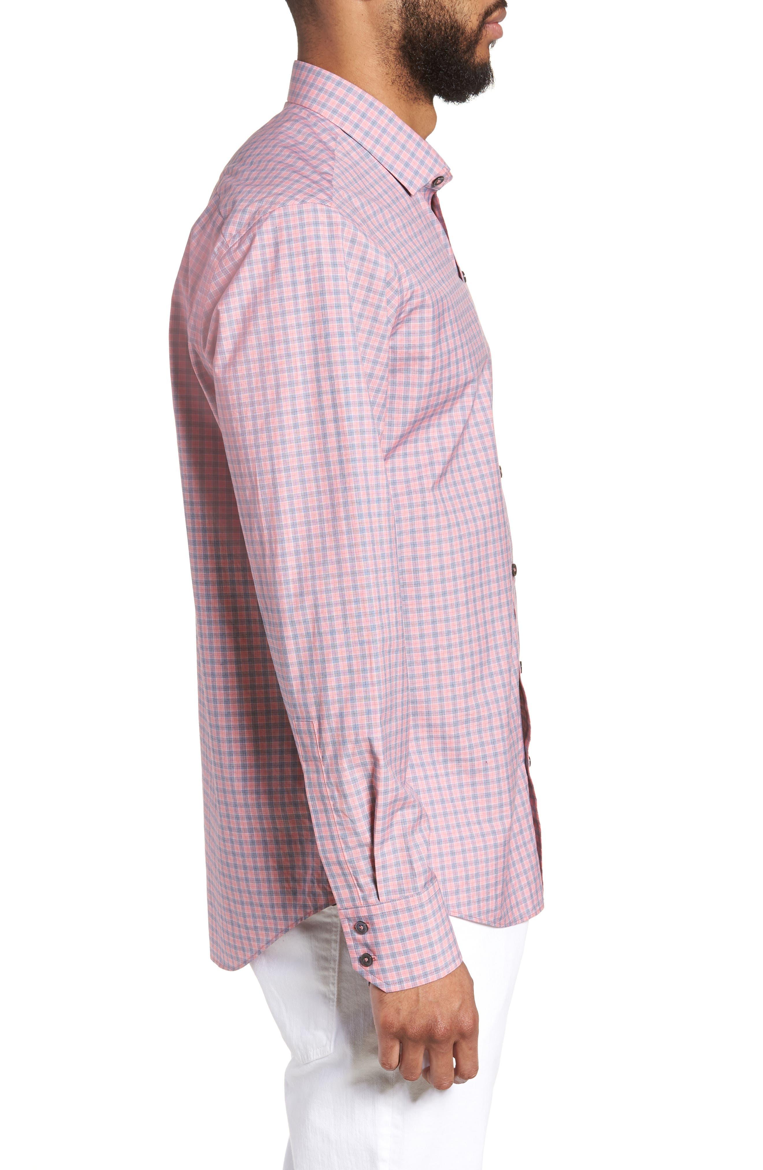 Sherif Regular Fit Sport Shirt,                             Alternate thumbnail 3, color,
