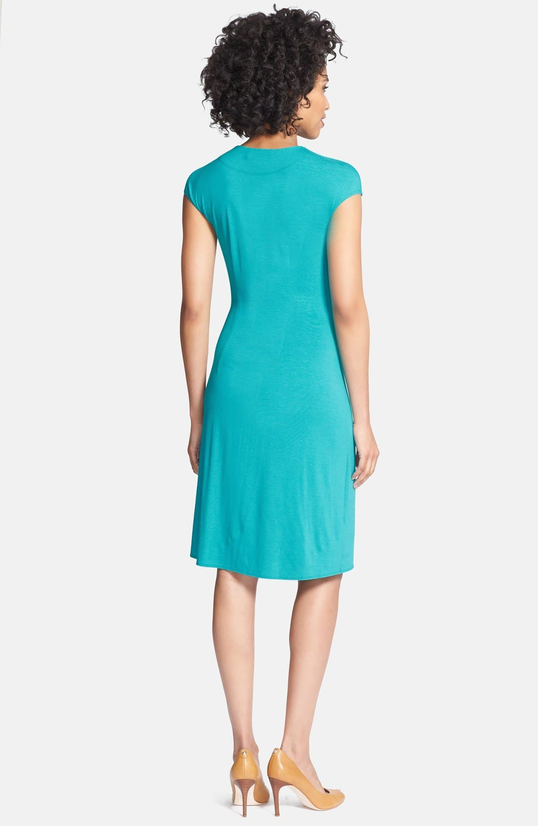 'Tambour' Side Gathered Dress,                             Alternate thumbnail 15, color,