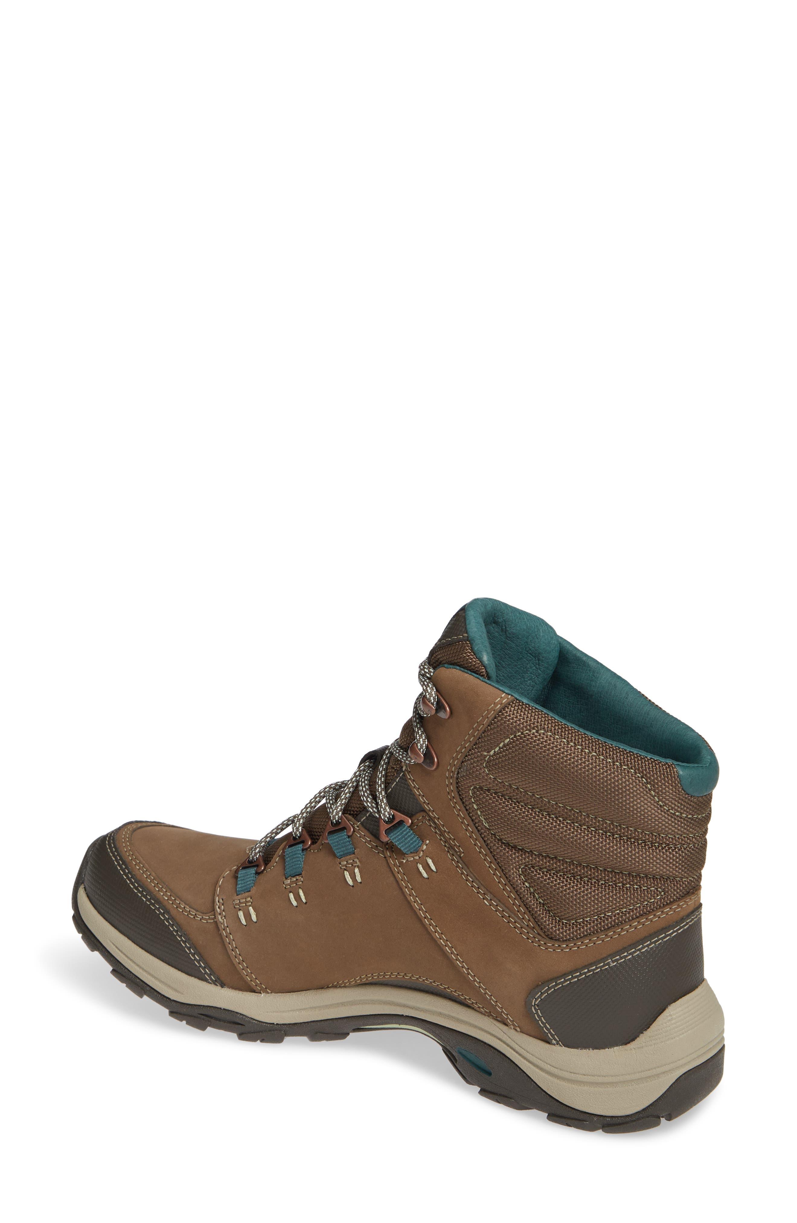 Ahnu by Teva Montara III Waterproof Hiking Boot,                             Alternate thumbnail 2, color,                             CHOCOLATE CHIP NUBUCK LEATHER