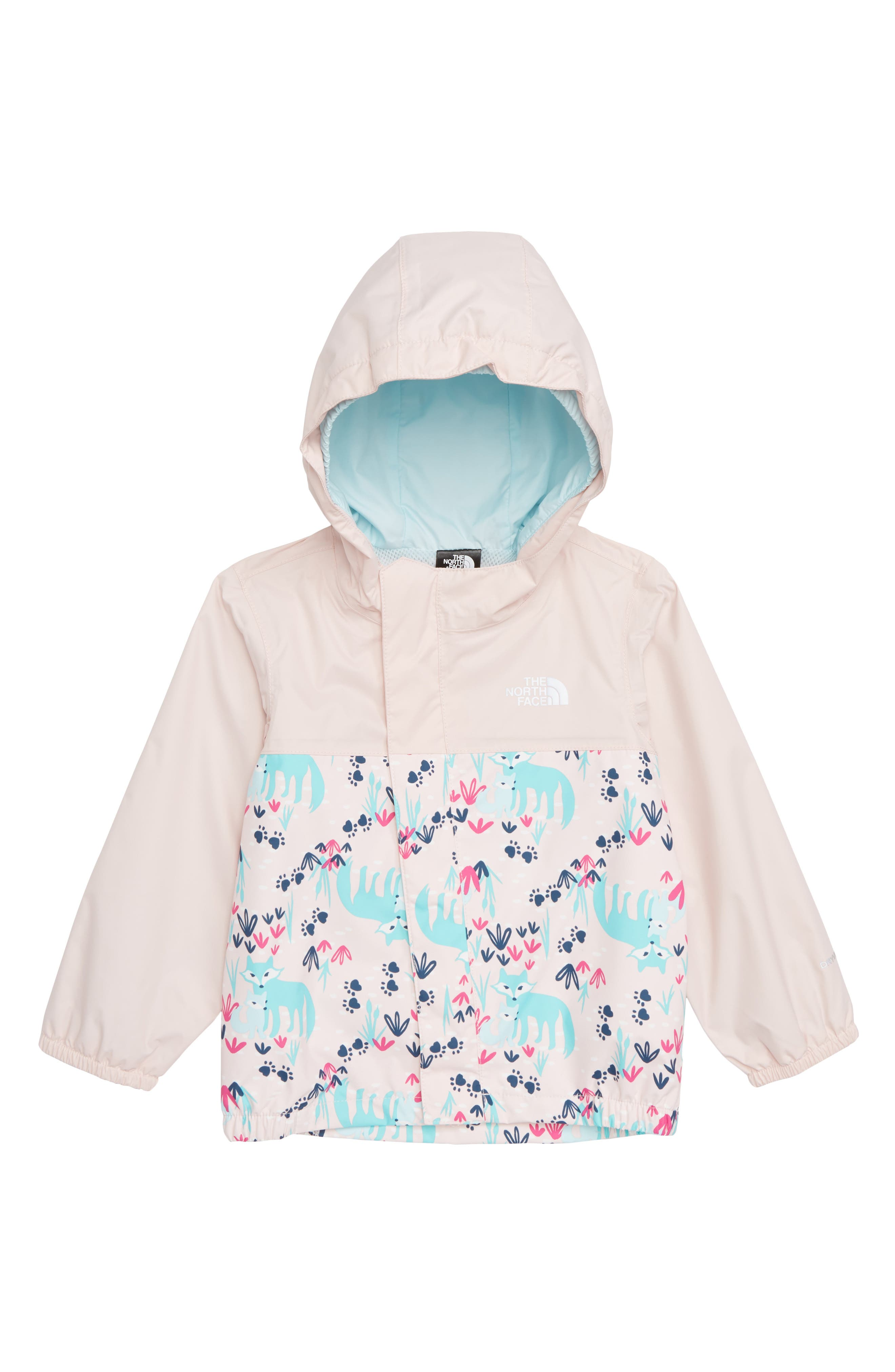 Infant Girls The North Face Tailout Hooded Rain Jacket