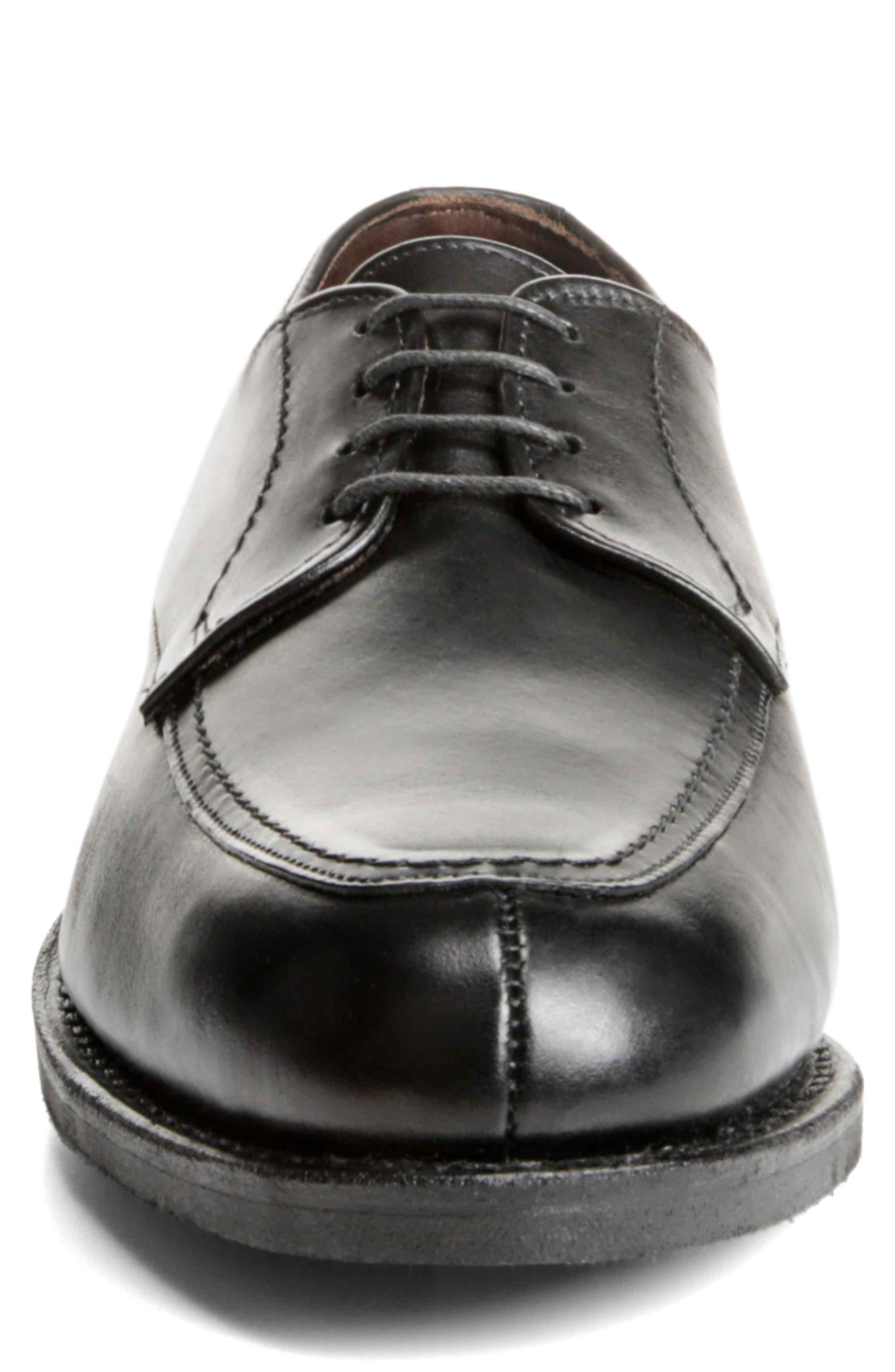 ALLEN EDMONDS,                             MSP Split Toe Derby,                             Alternate thumbnail 4, color,                             BLACK LEATHER