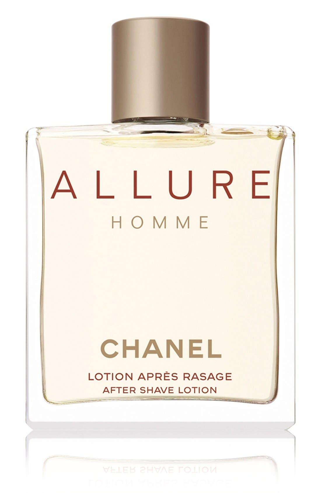 CHANEL,                             ALLURE HOMME<br />After Shave Lotion,                             Main thumbnail 1, color,                             001