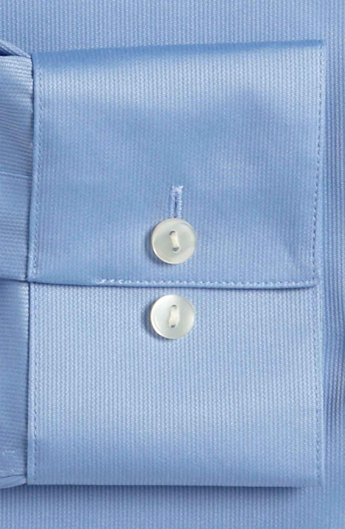 Slim Fit Non-Iron Dress Shirt,                             Alternate thumbnail 10, color,