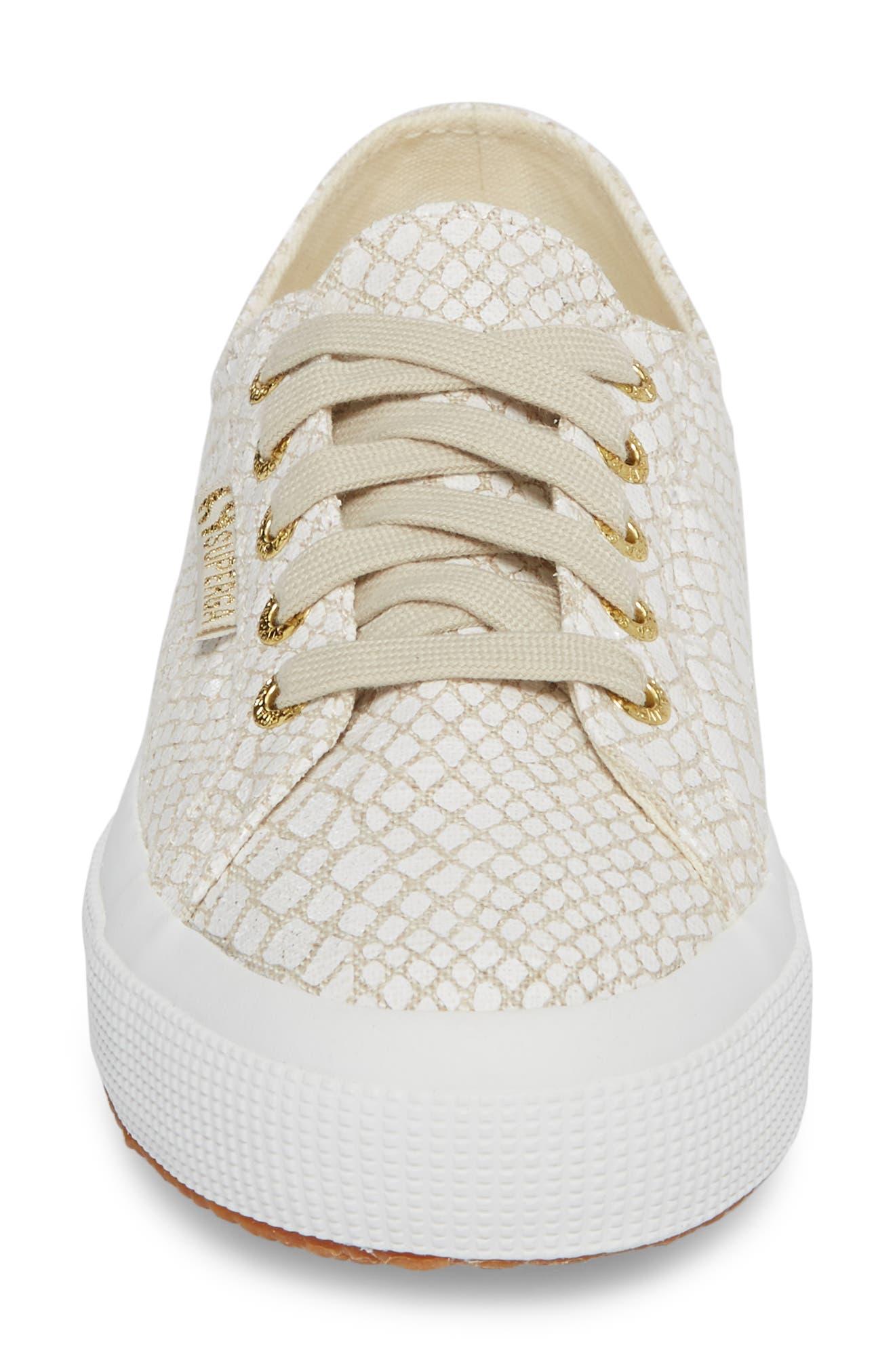 SUPERGA,                             2750 Low Top Sneaker,                             Alternate thumbnail 4, color,                             107